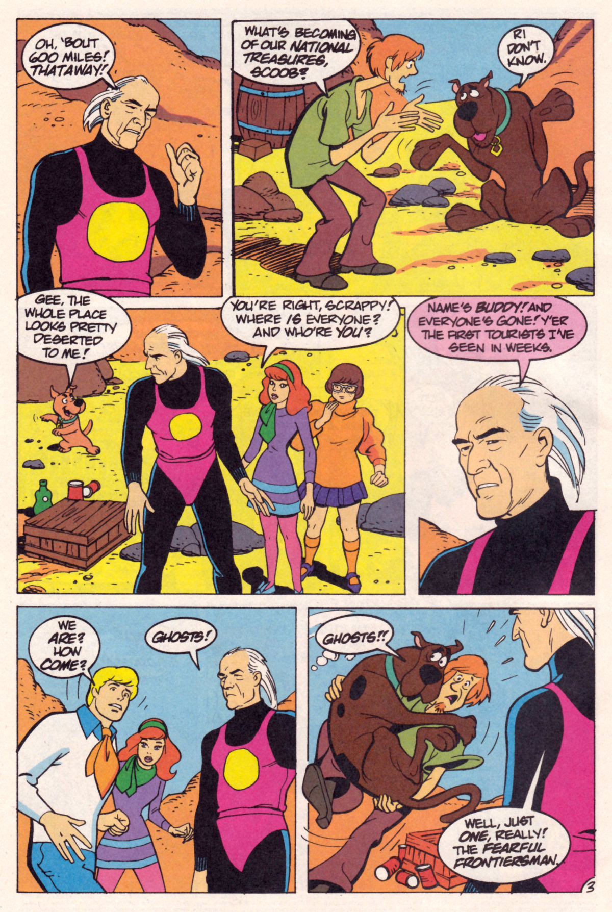 Read online Scooby-Doo (1995) comic -  Issue #12 - 5