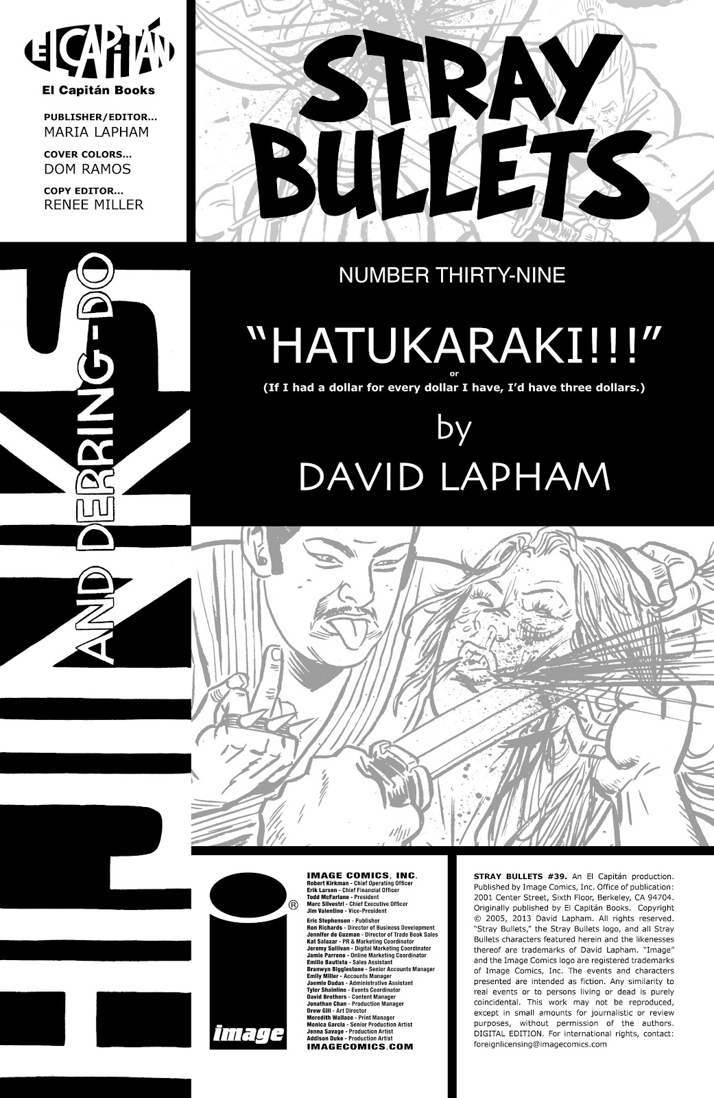 Stray Bullets Issue #39 #39 - English 2