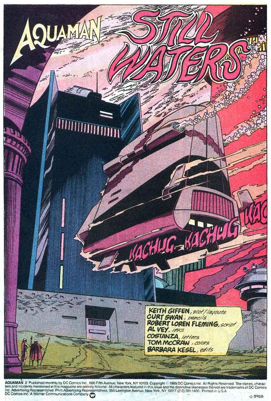 Aquaman (1989) Issue #2 #2 - English 2