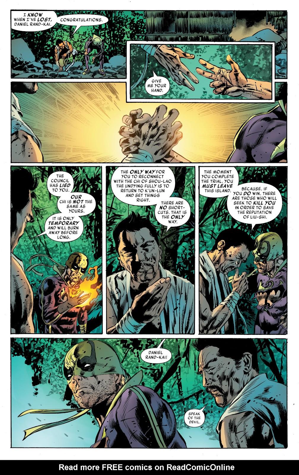 Iron Fist (2017) Issue #4 #4 - English 18