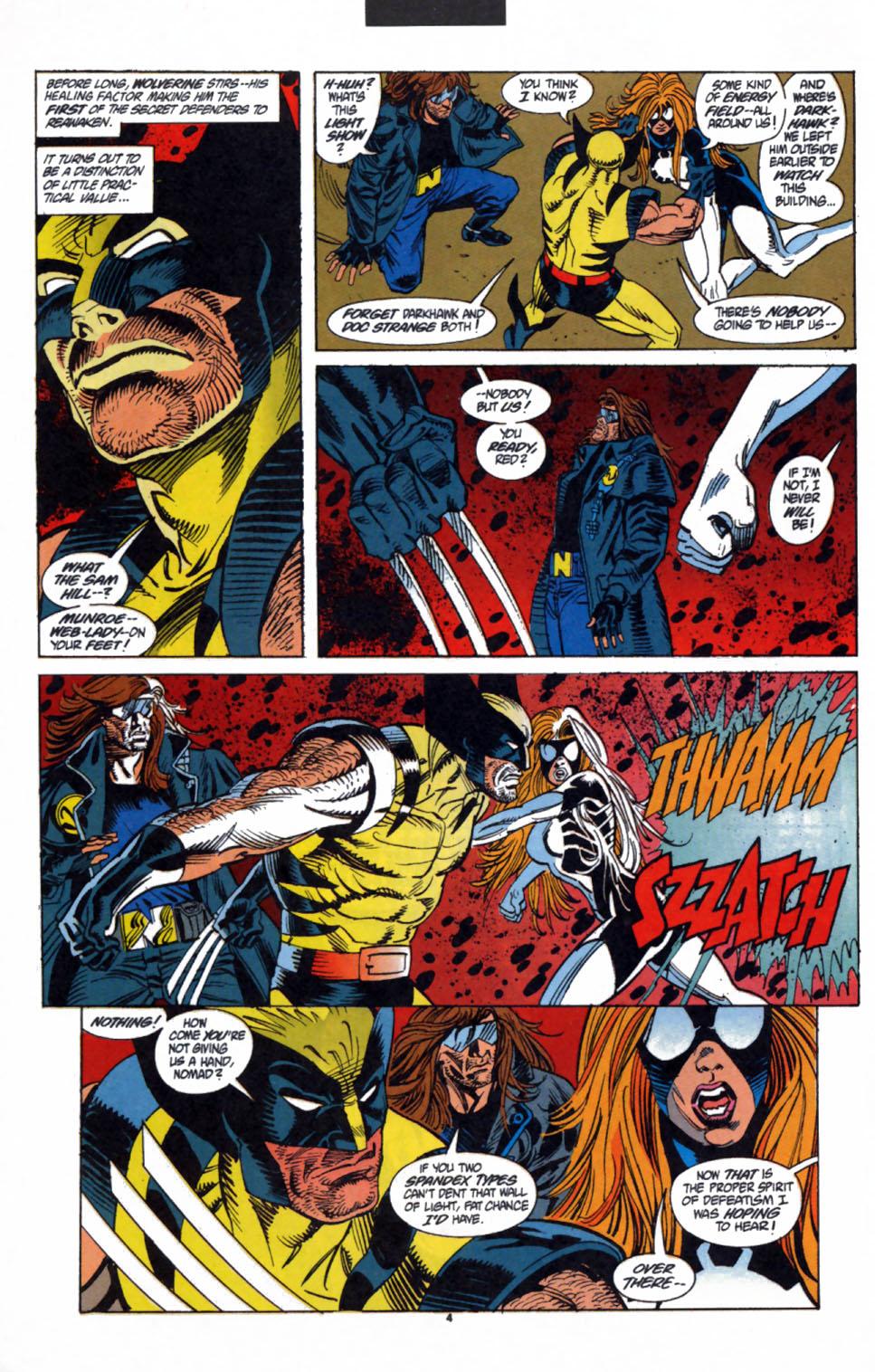 Read online Secret Defenders comic -  Issue #3 - 5