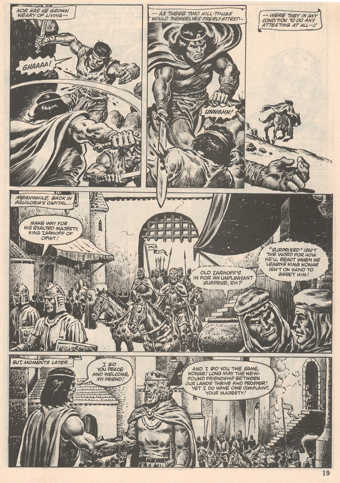The Savage Sword Of Conan Issue #104 #105 - English 19
