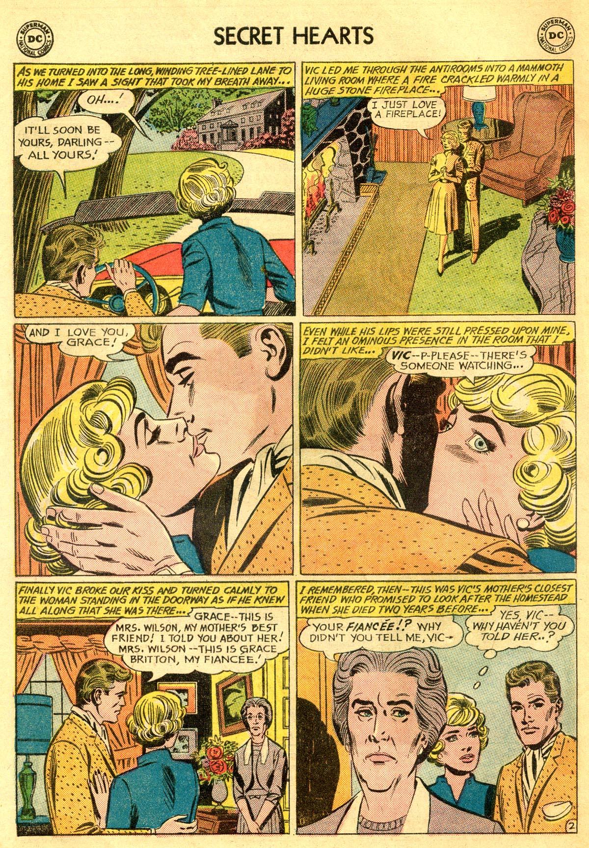 Read online Secret Hearts comic -  Issue #81 - 4