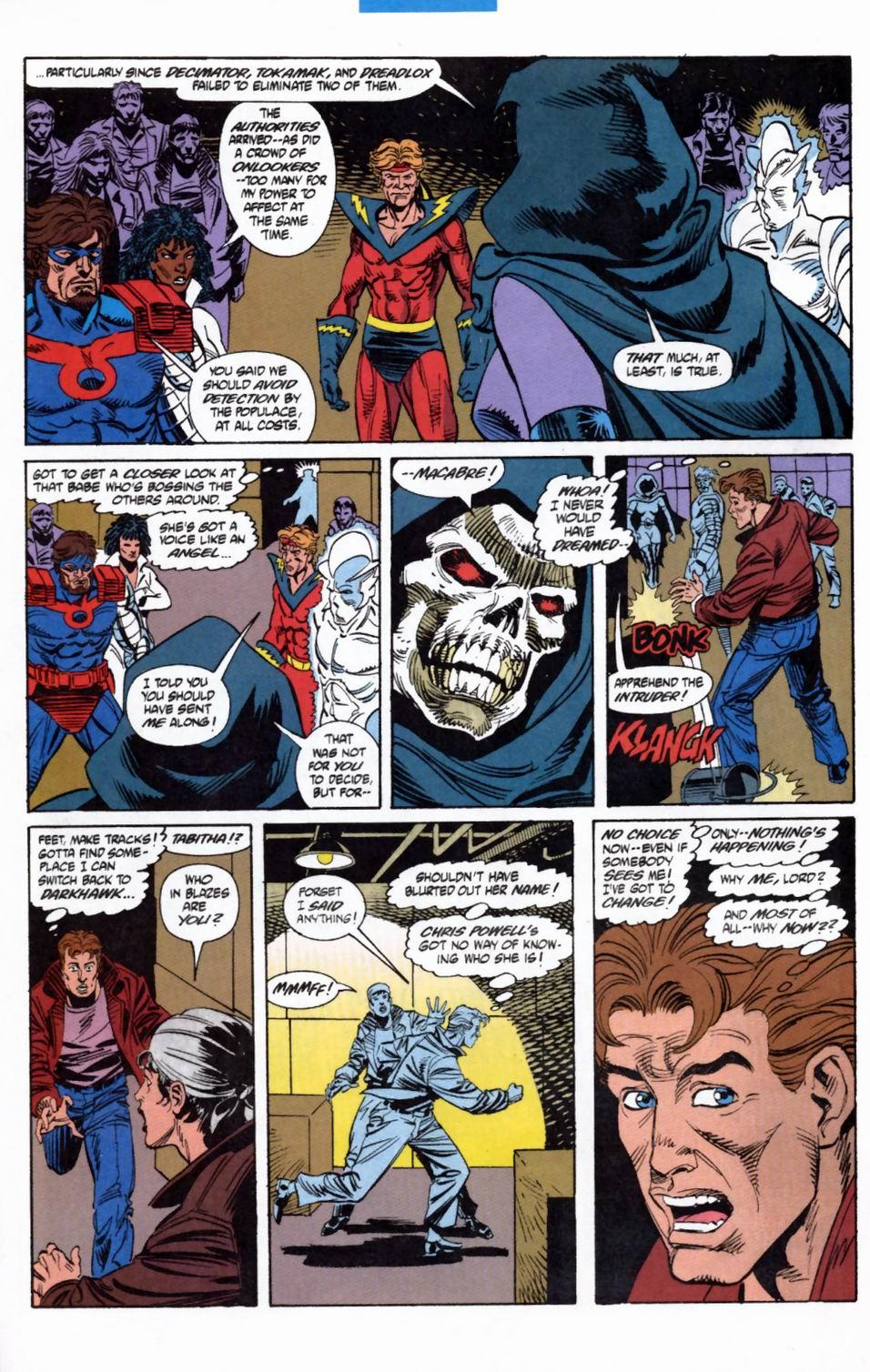 Read online Secret Defenders comic -  Issue #2 - 19