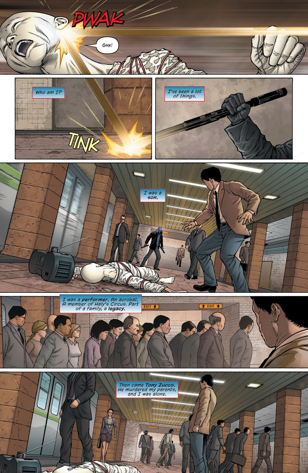 Nightwing (2011) Issue #30 #32 - English 25