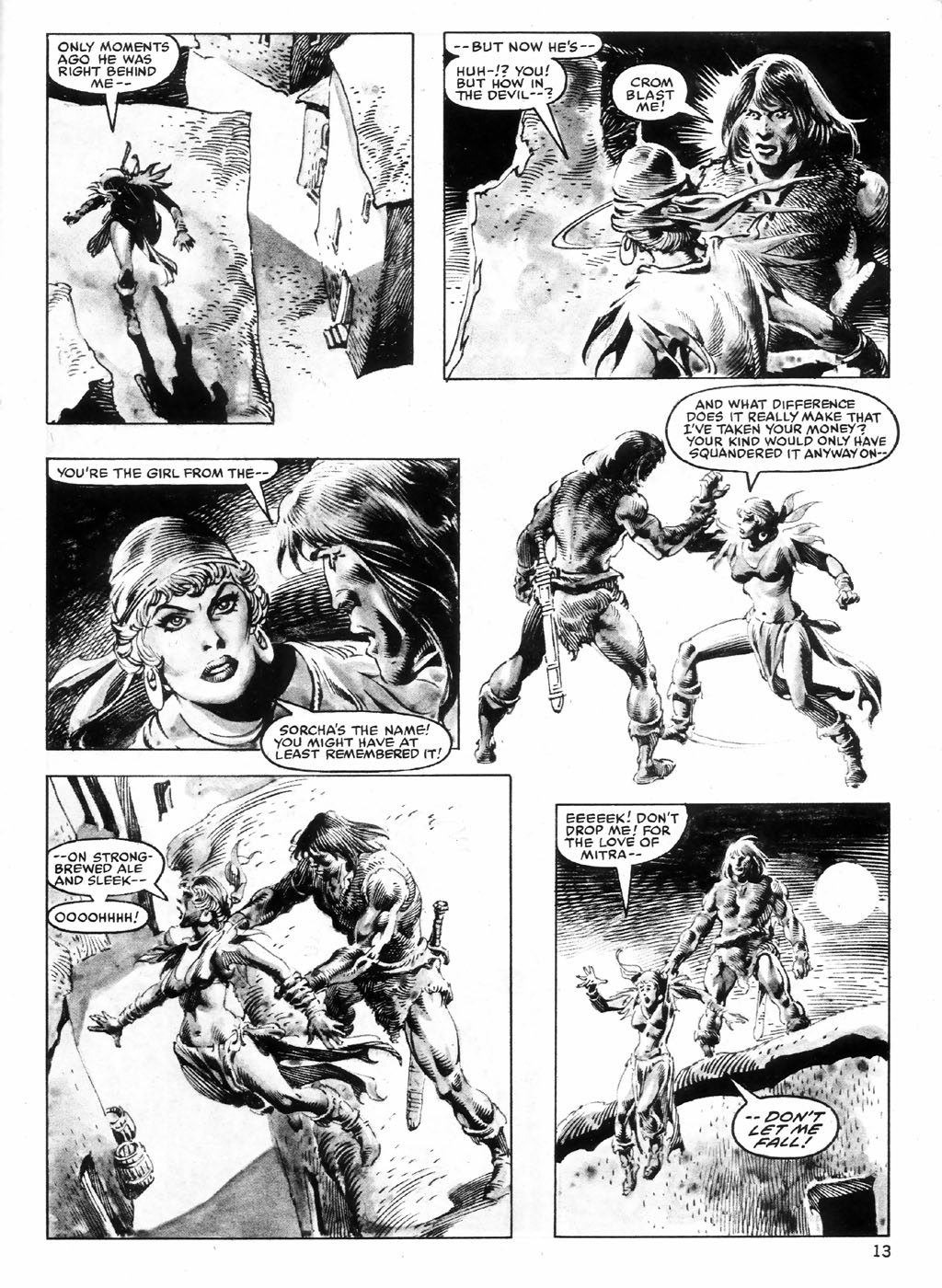 The Savage Sword Of Conan Issue #98 #99 - English 13