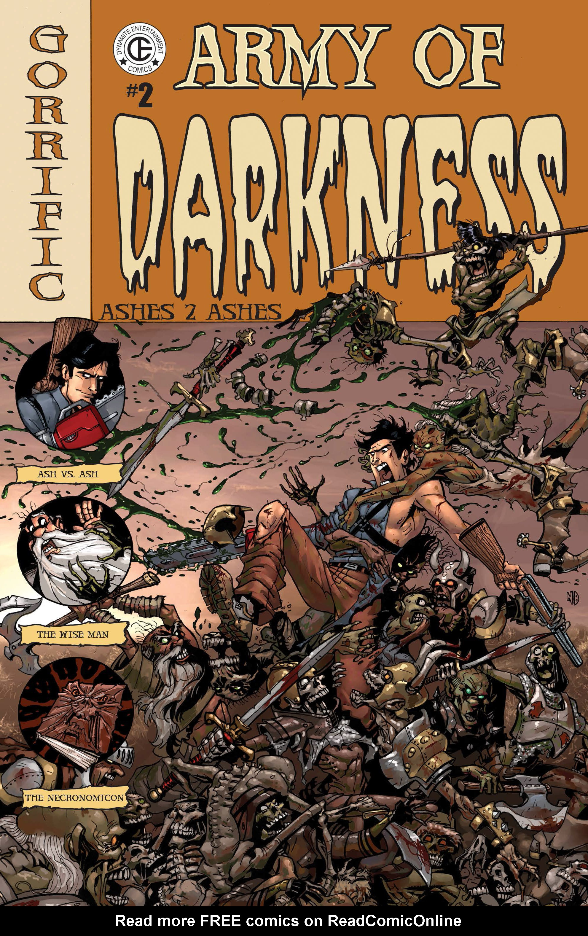 Army of Darkness: Ashes 2 Ashes 2 Page 1