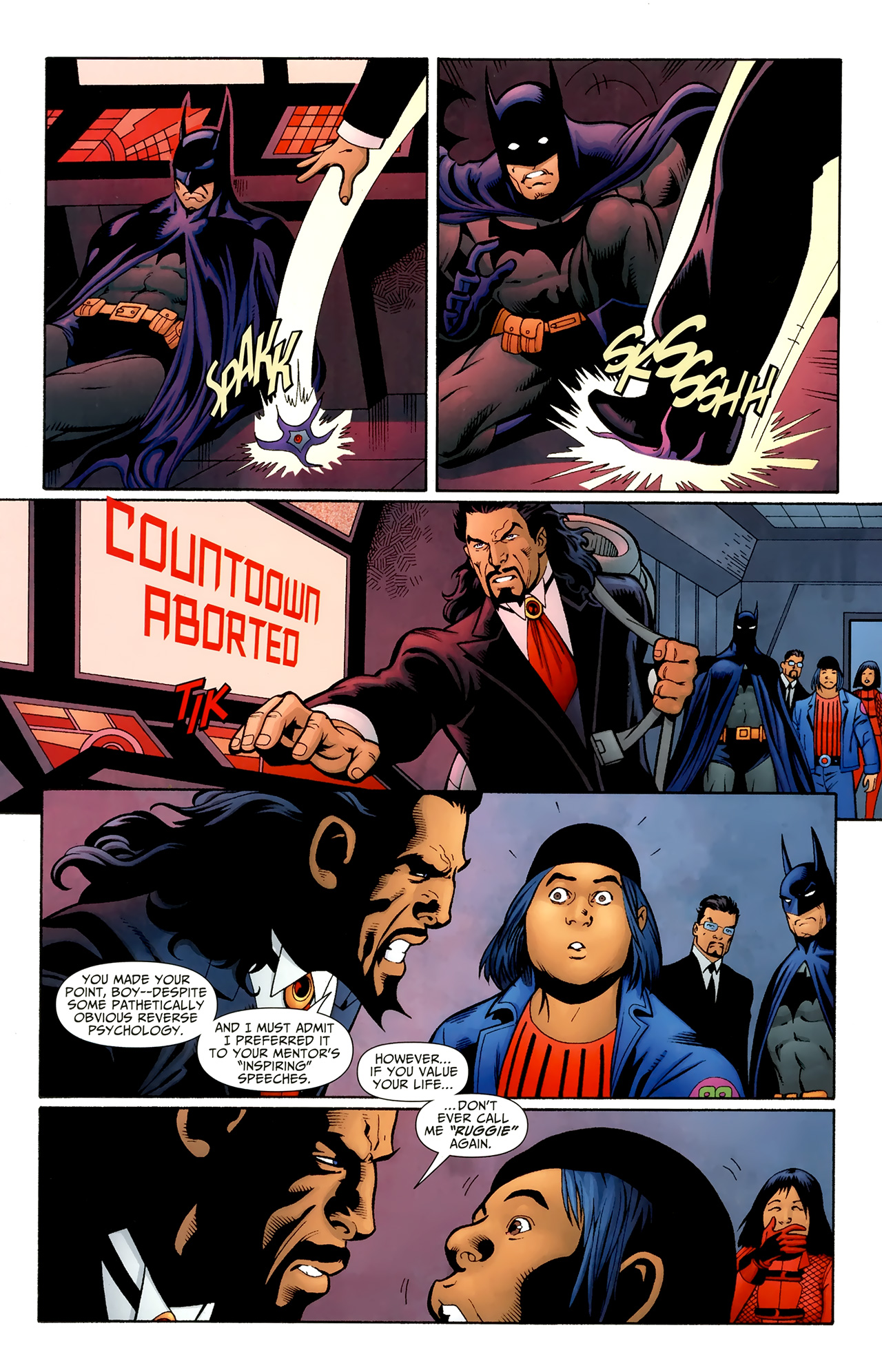 Read online Justice League of America/The 99 comic -  Issue #6 - 12