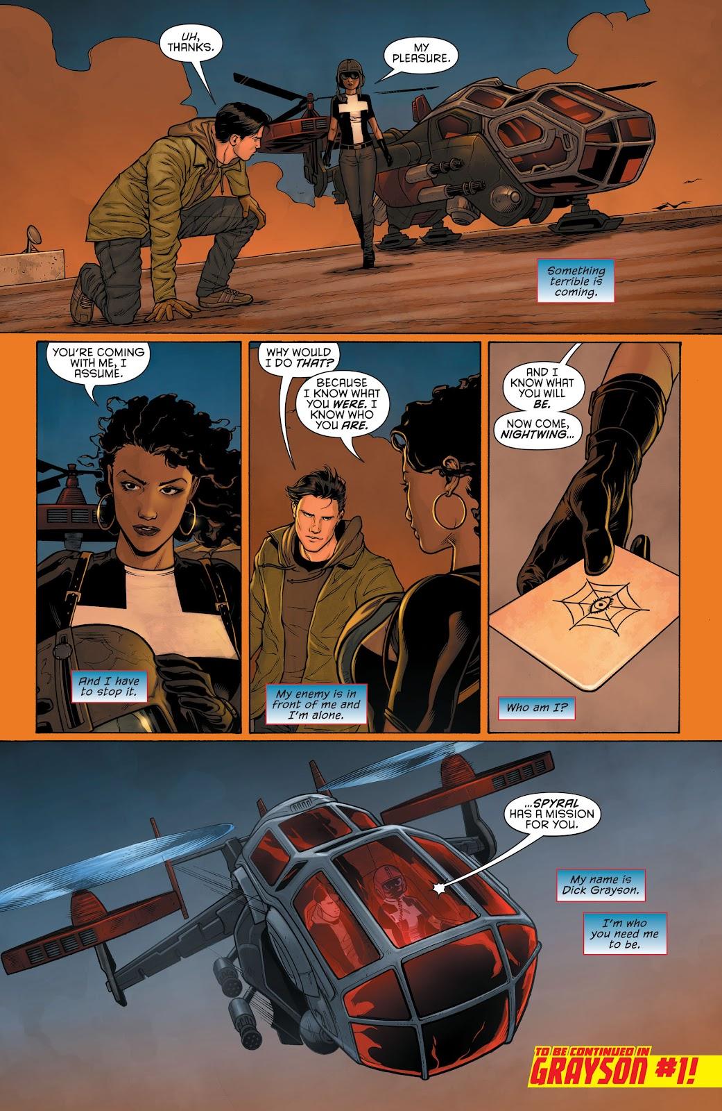 Nightwing (2011) Issue #30 #32 - English 30