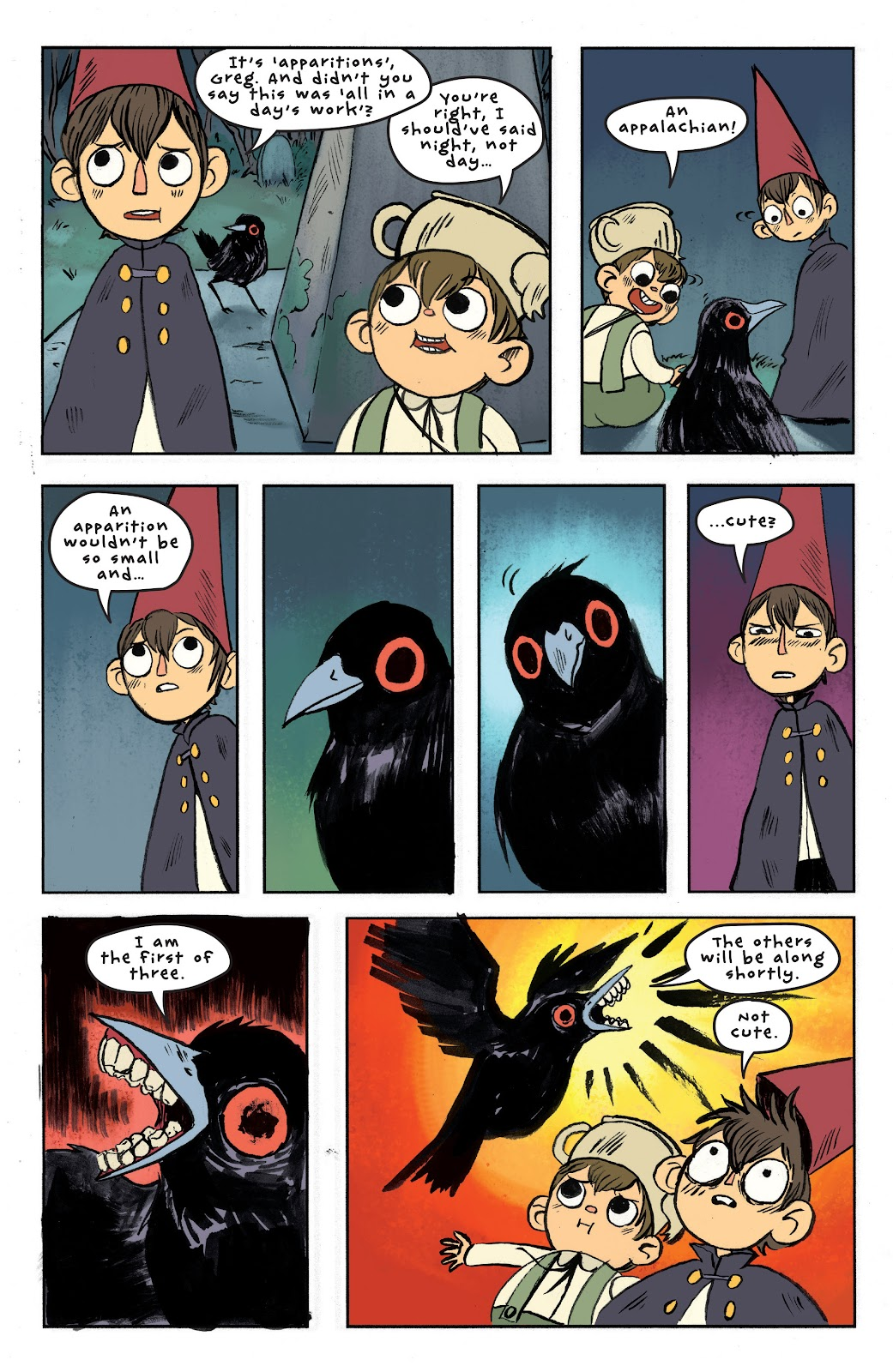 Over the Garden Wall (2016) Issue #6 #6 - English 17