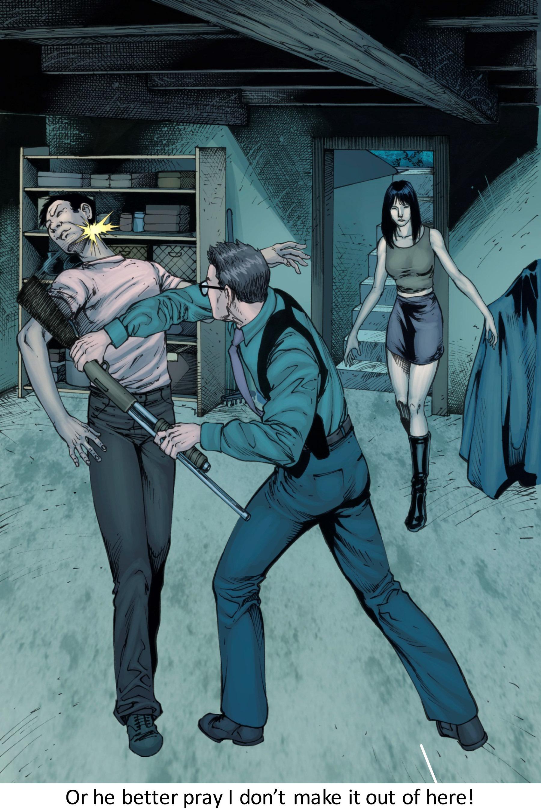 Read online Z-Men comic -  Issue #3 - 89