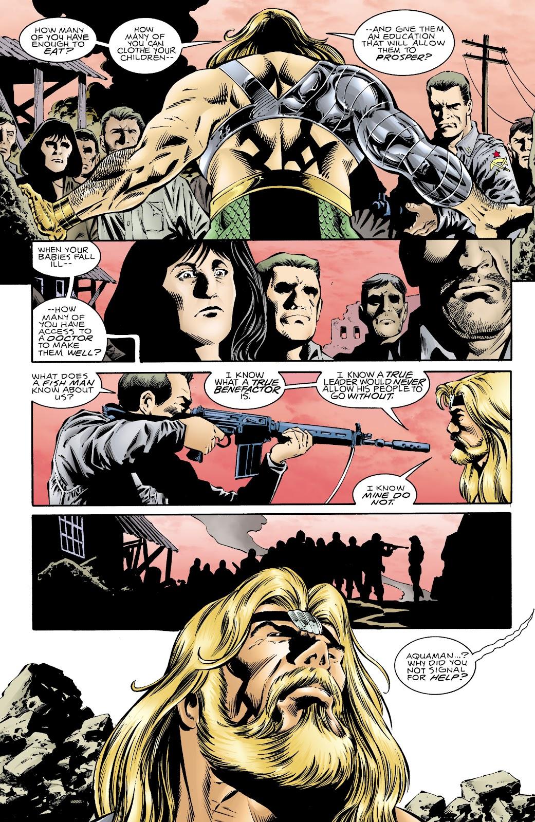 Aquaman (1994) Issue #68 #74 - English 7