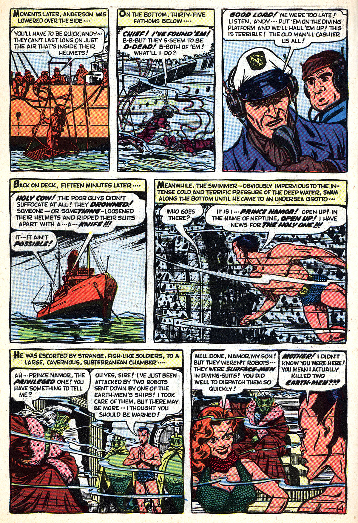 Sub-Mariner Comics #33 #33 - English 6