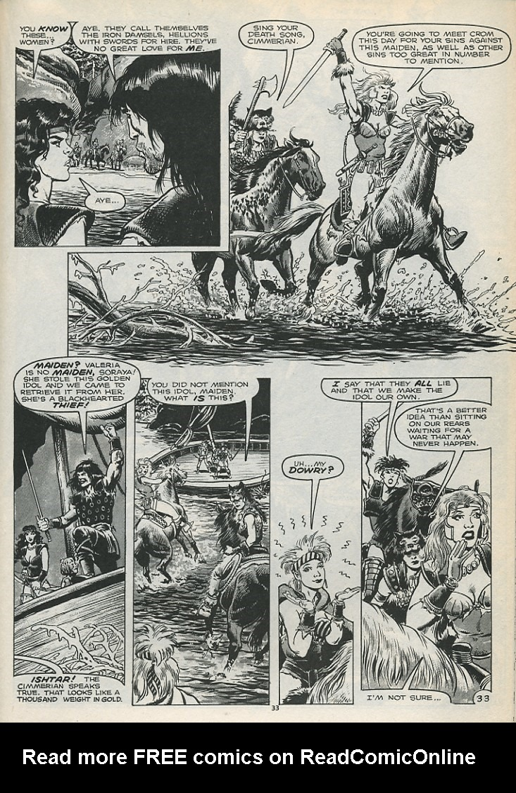 The Savage Sword Of Conan Issue #179 #180 - English 35
