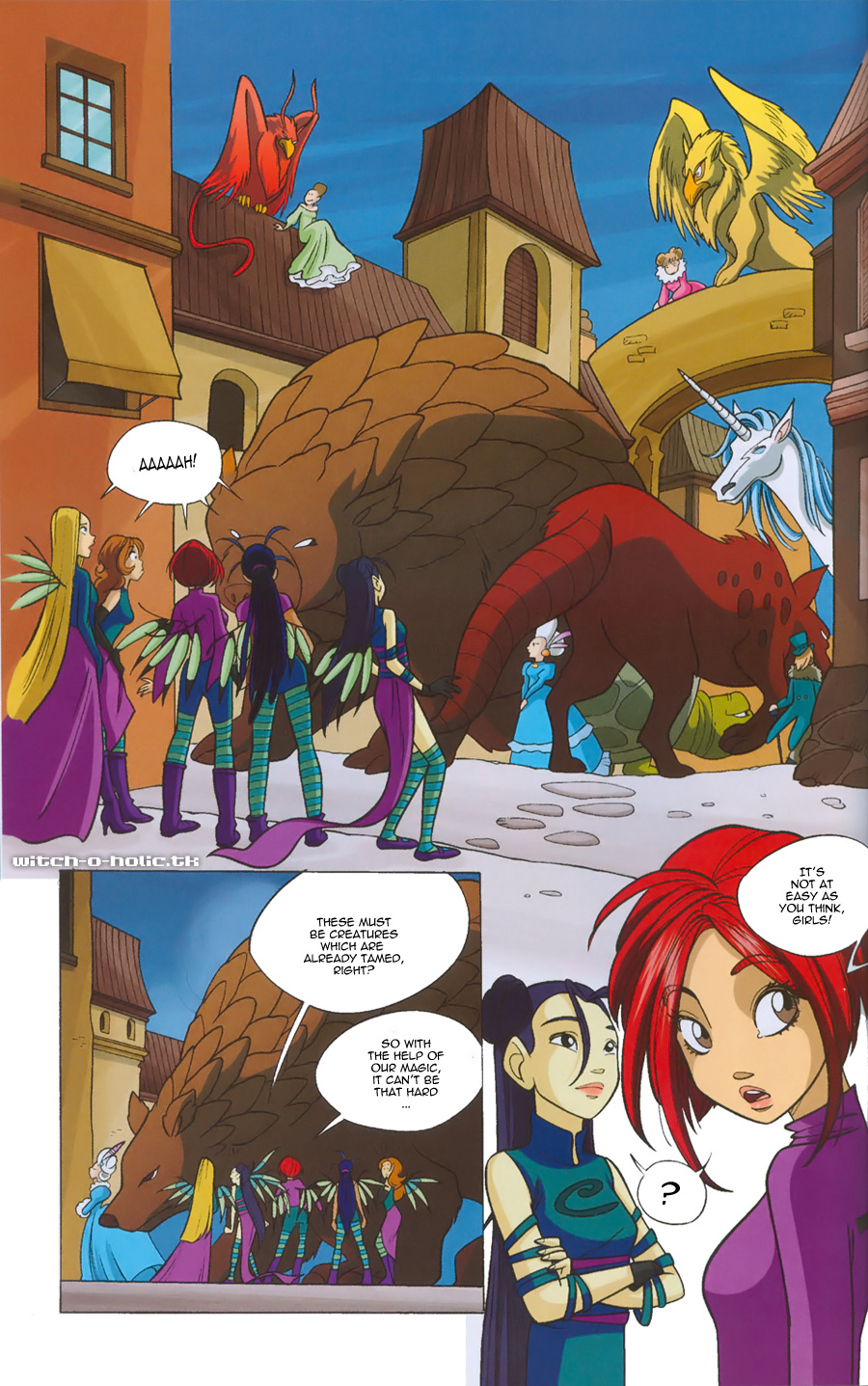 Read online W.i.t.c.h. comic -  Issue #135 - 6