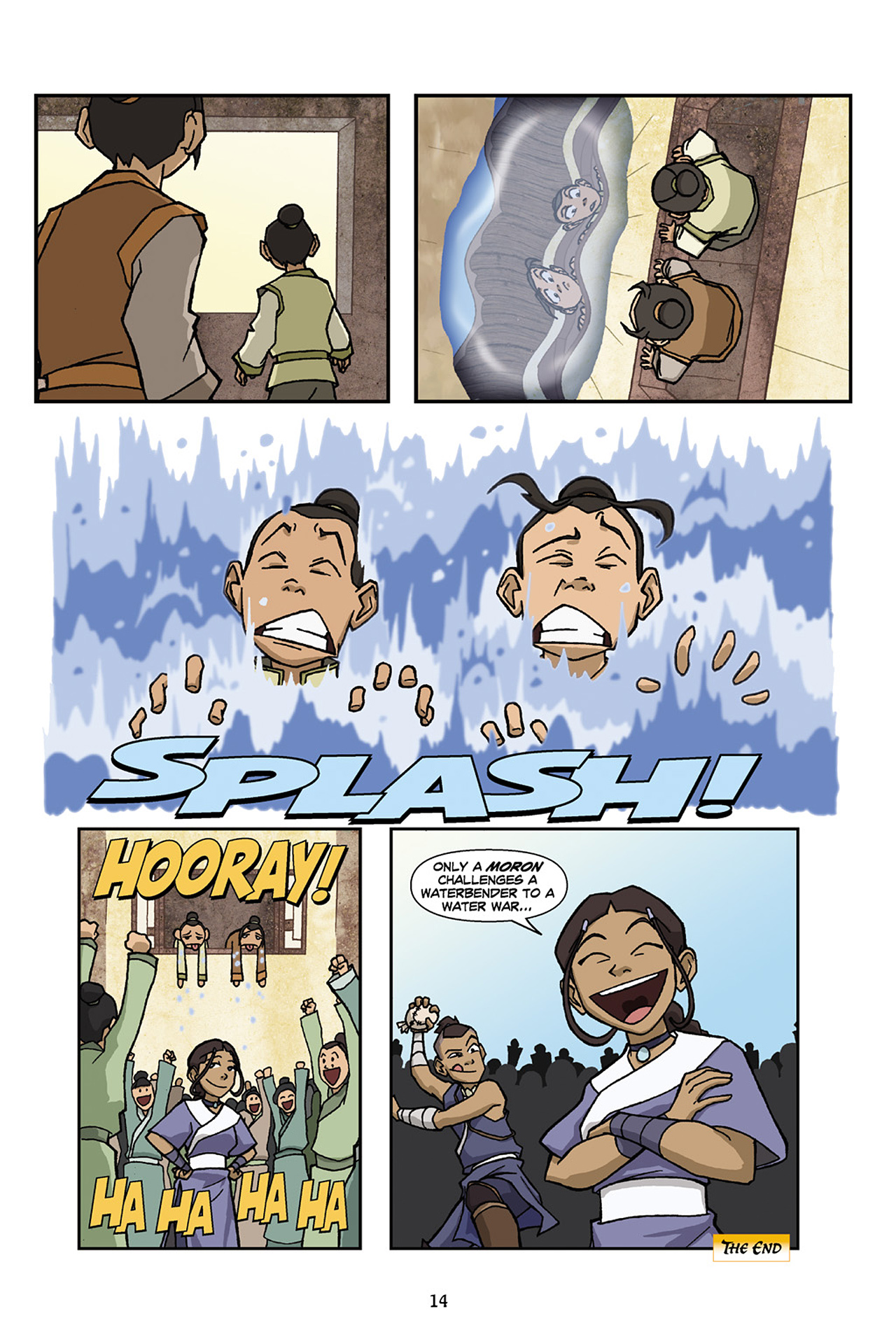 Nickelodeon Avatar: The Last Airbender - The Lost Adventures chap full pic 15