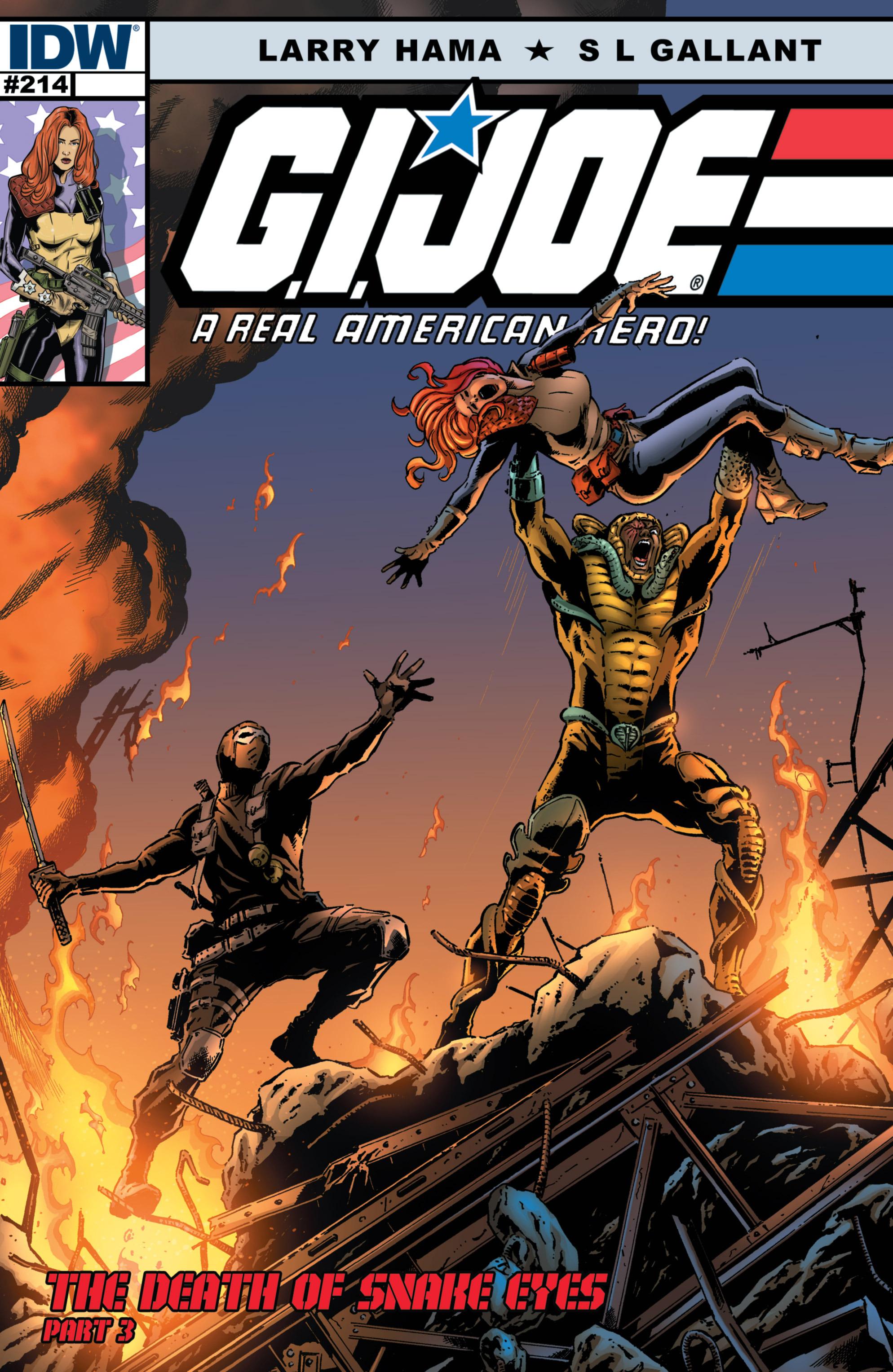 G.I. Joe: A Real American Hero 214 Page 1