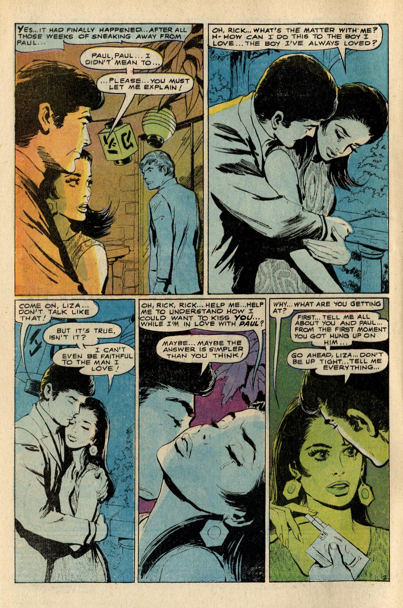 Read online Secret Hearts comic -  Issue #138 - 4