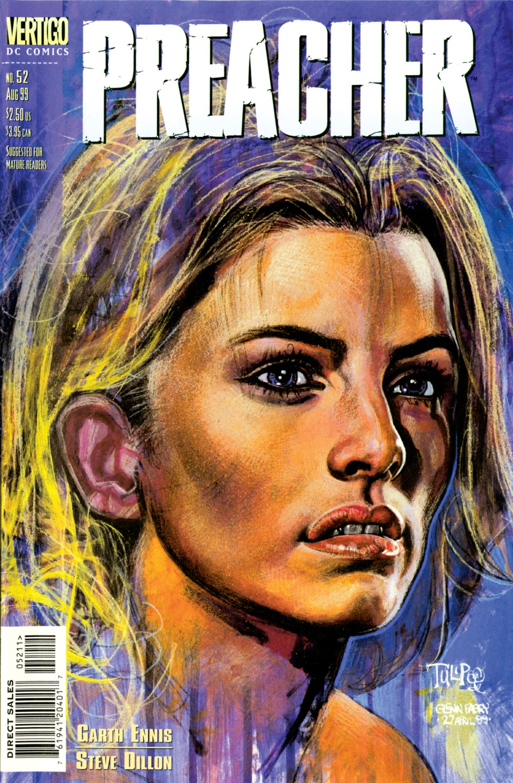 Preacher Issue #52 #61 - English 1