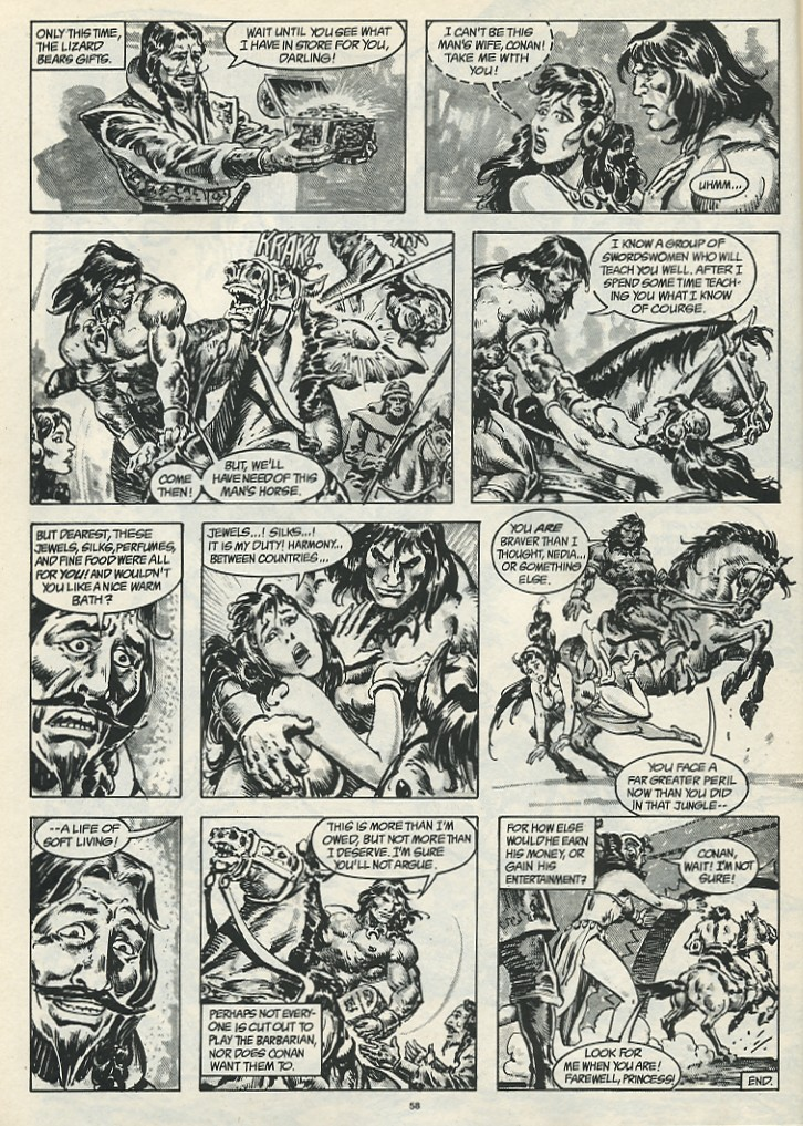 The Savage Sword Of Conan Issue #185 #186 - English 60