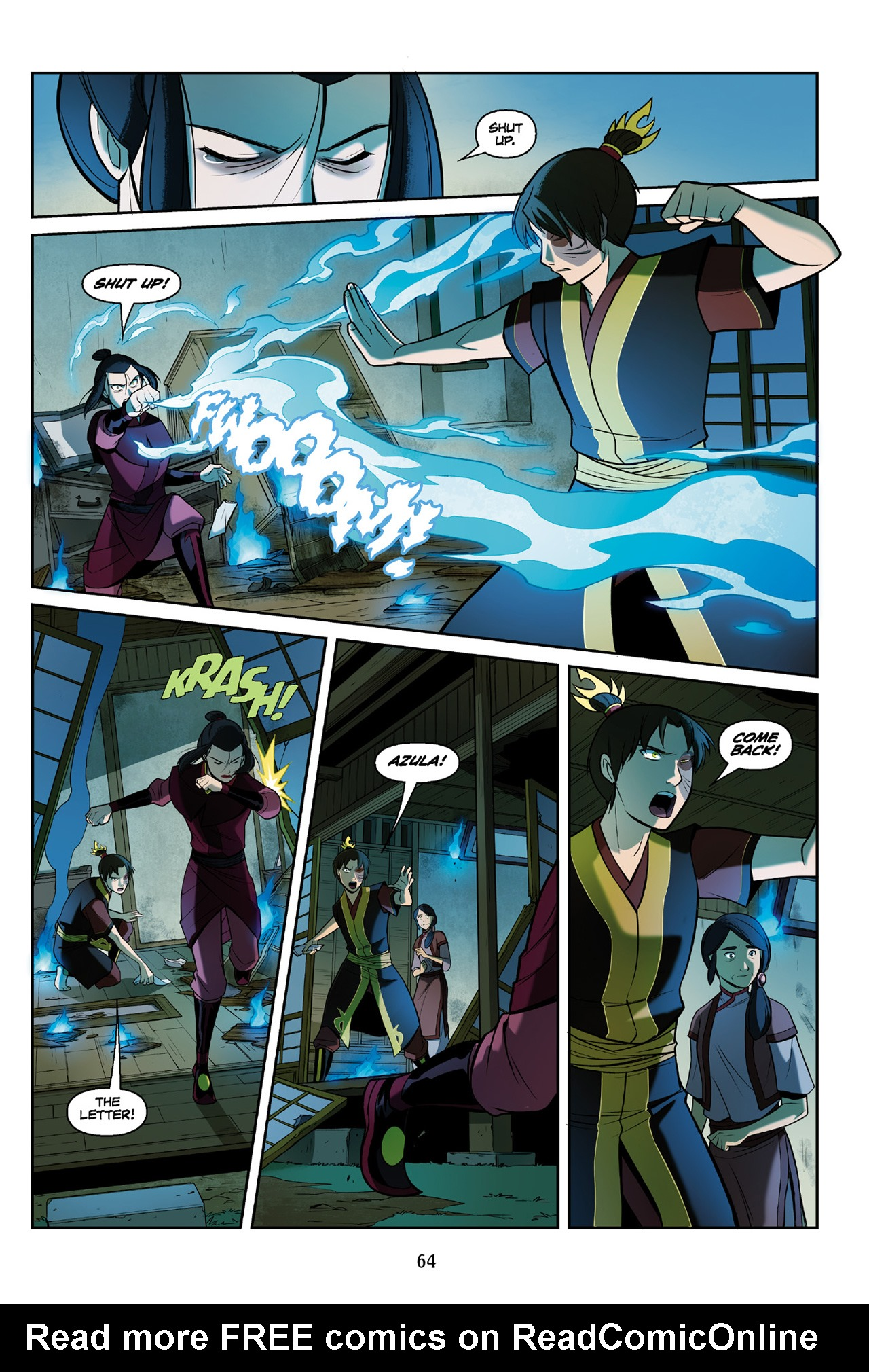 Read online Nickelodeon Avatar: The Last Airbender - The Search comic -  Issue # Part 3 - 65