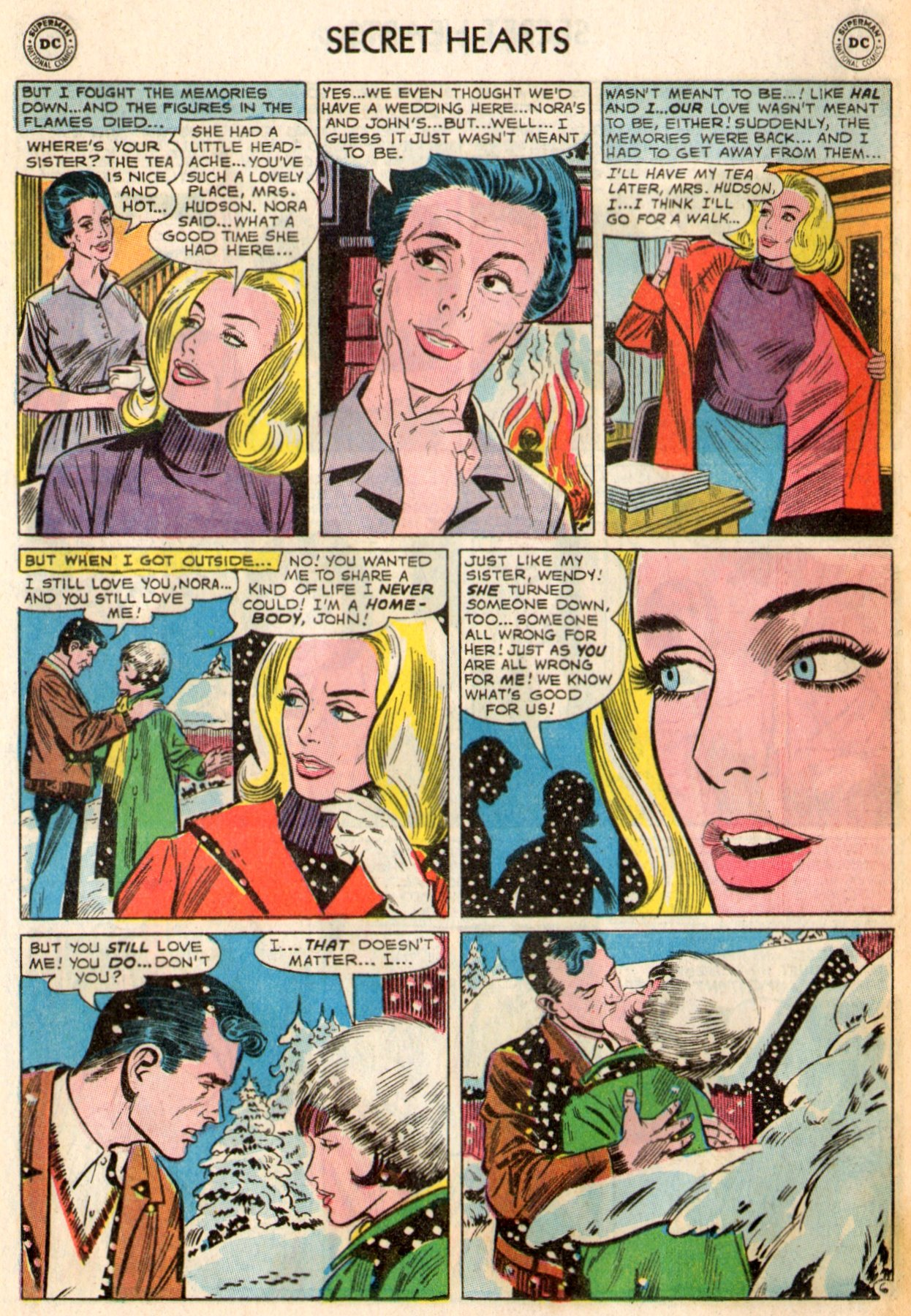 Read online Secret Hearts comic -  Issue #103 - 16