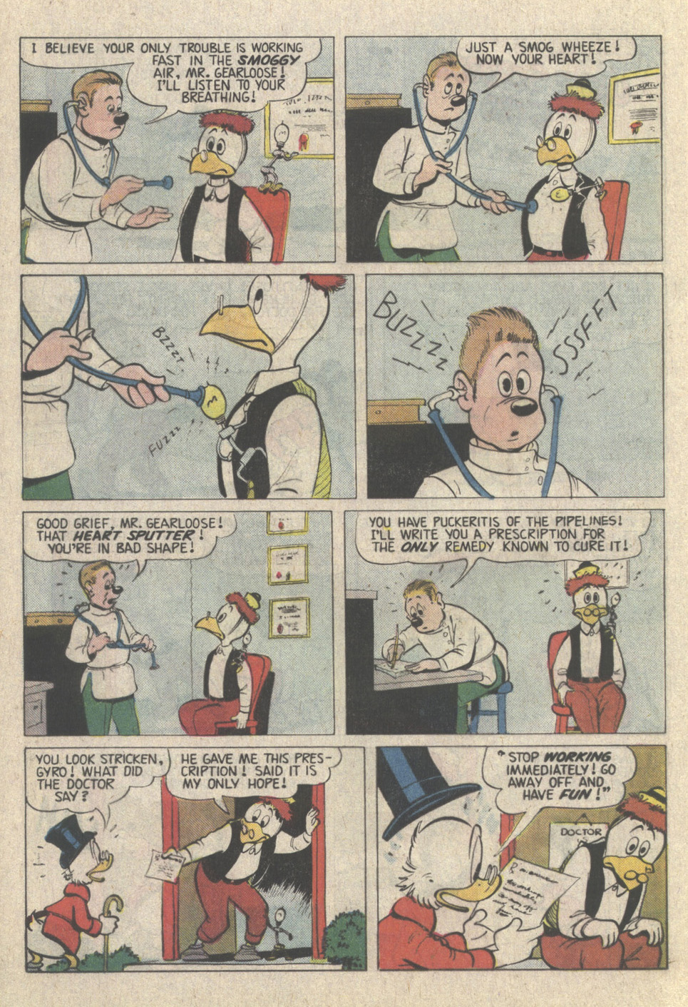 Uncle Scrooge (1953) Issue #223 #223 - English 24
