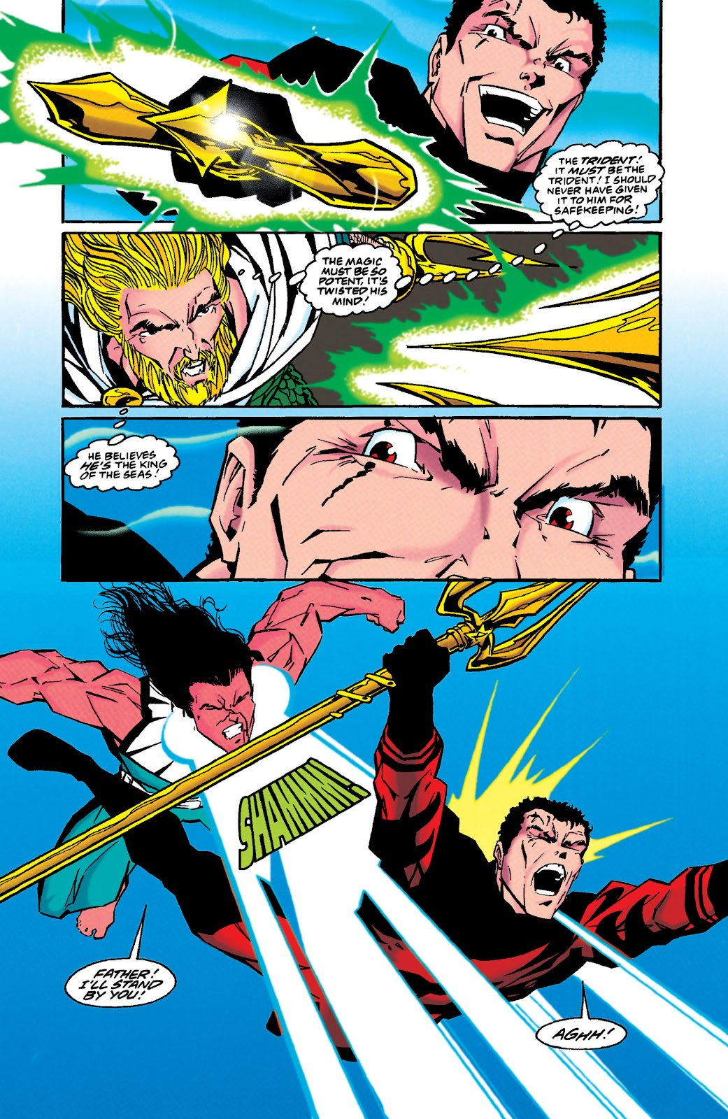 Aquaman (1994) Issue #49 #55 - English 16
