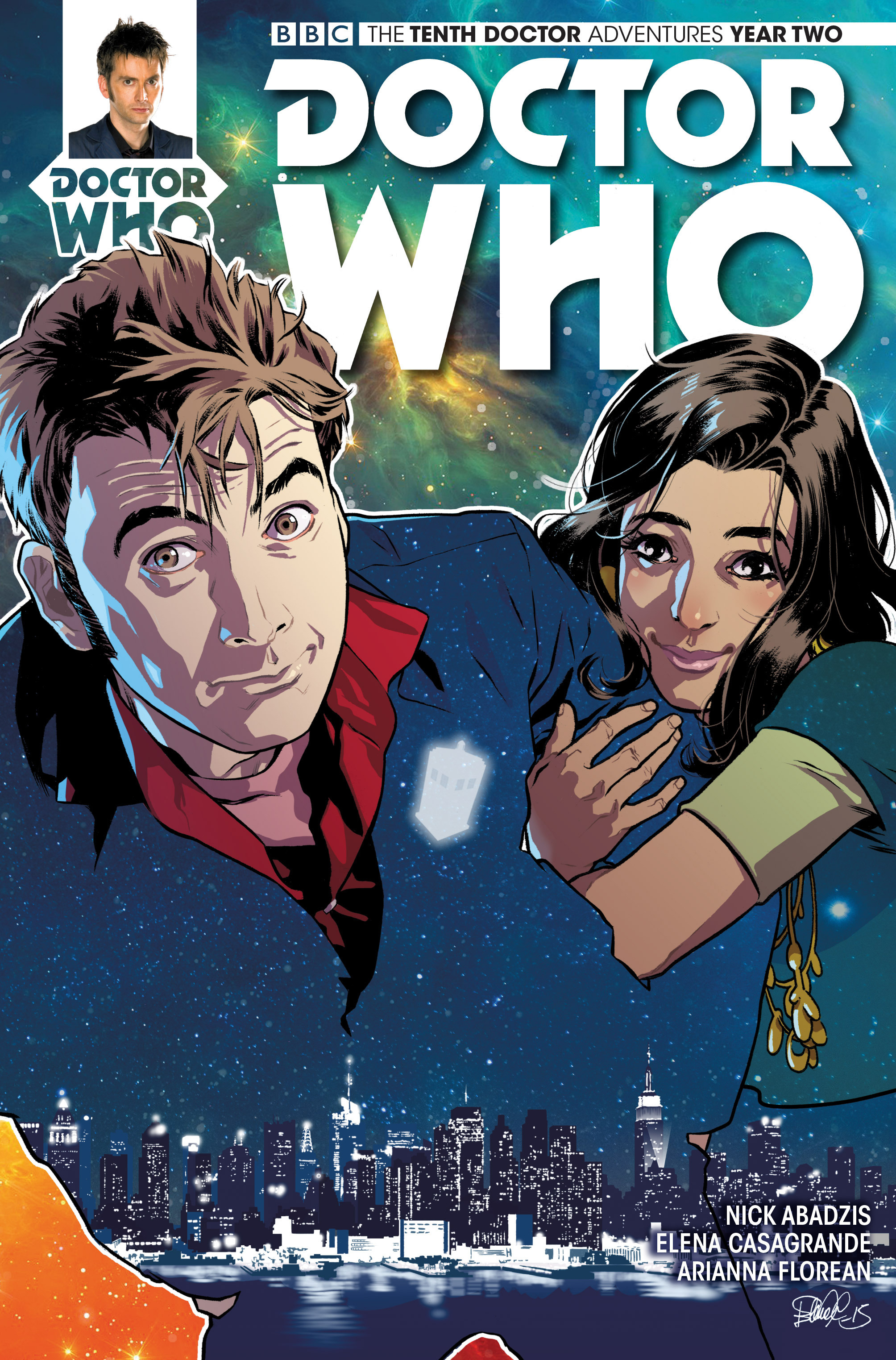 Doctor Who: The Tenth Doctor Year Two 5 Page 1