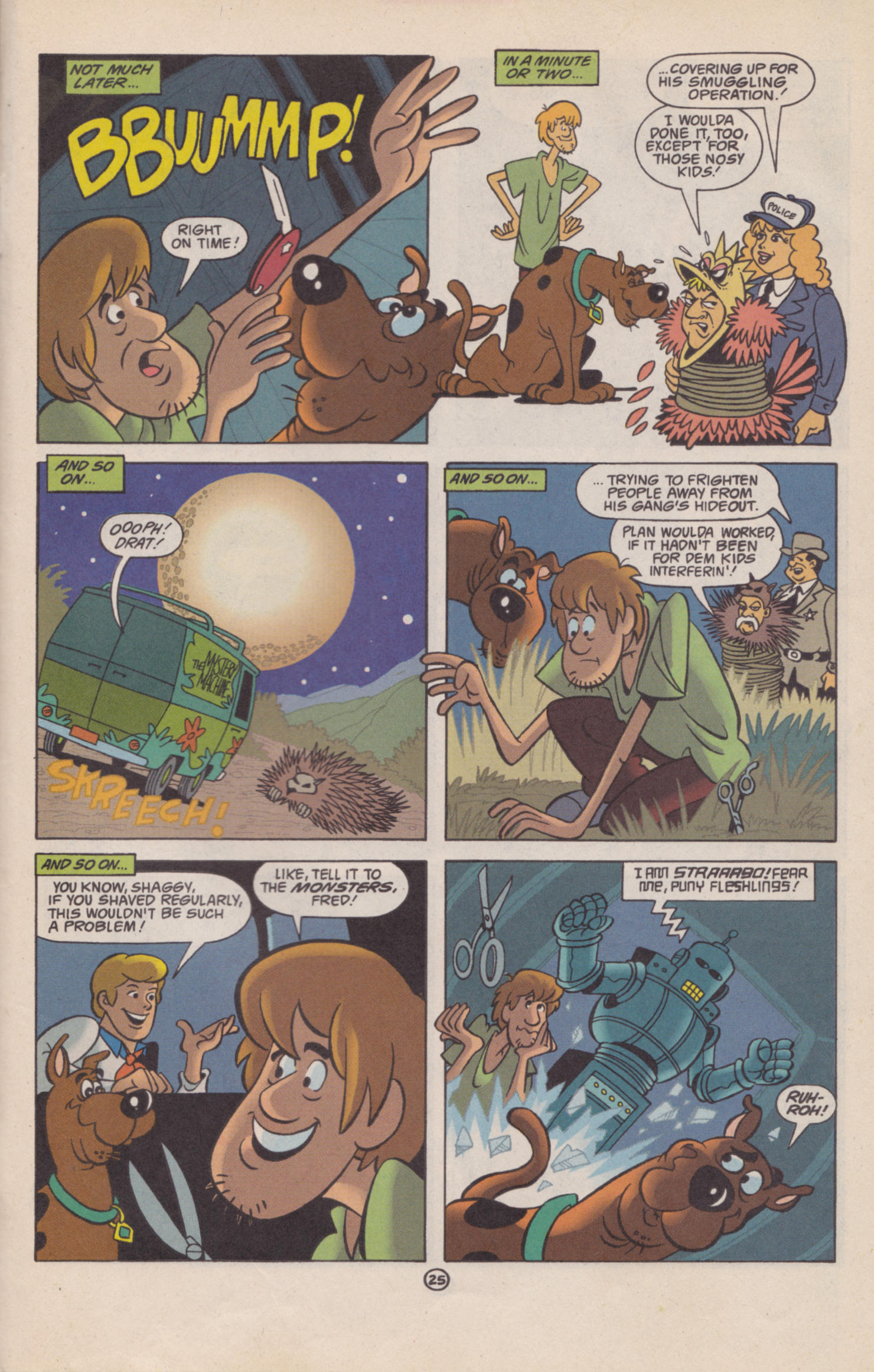 Read online Scooby-Doo (1997) comic -  Issue #2 - 20
