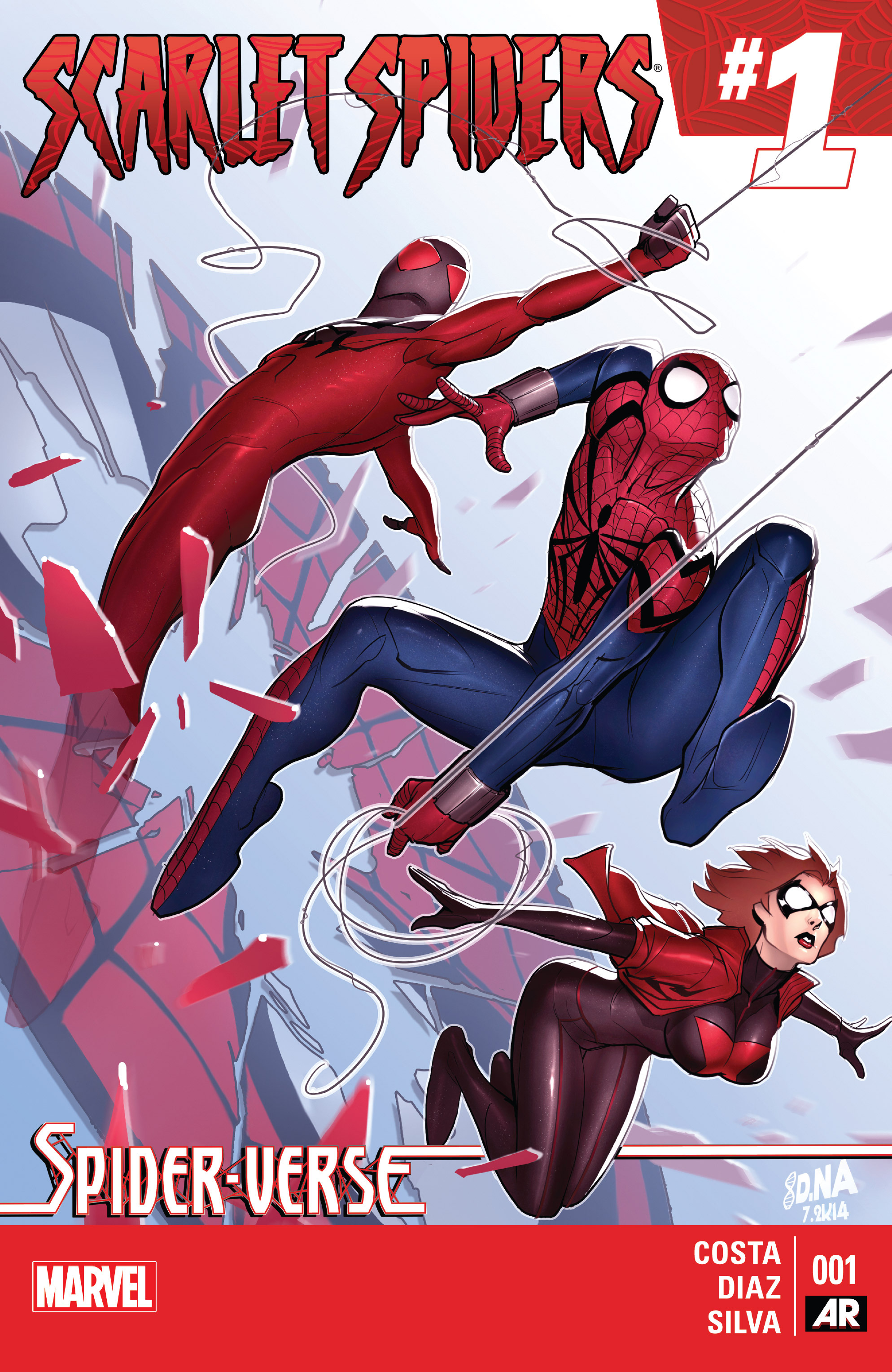 Read online Scarlet Spiders comic -  Issue #1 - 1
