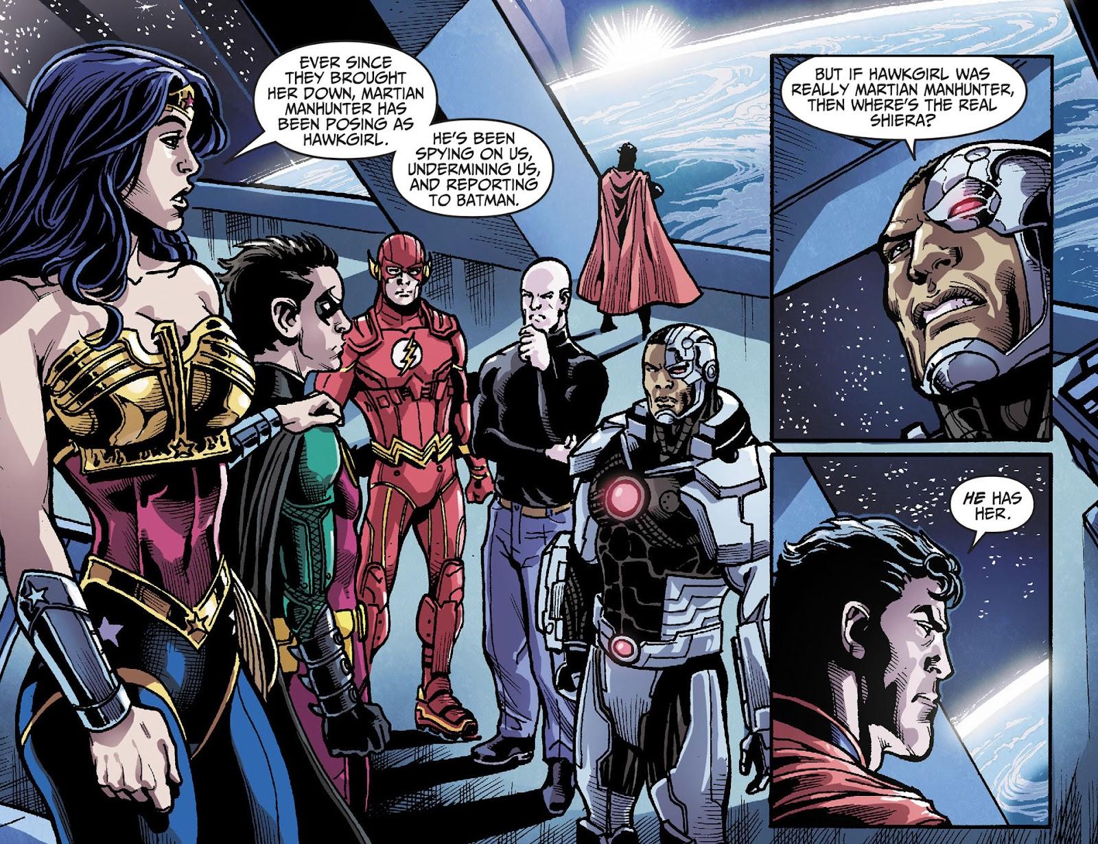 Injustice: Gods Among Us [I] Issue #28 #29 - English 3