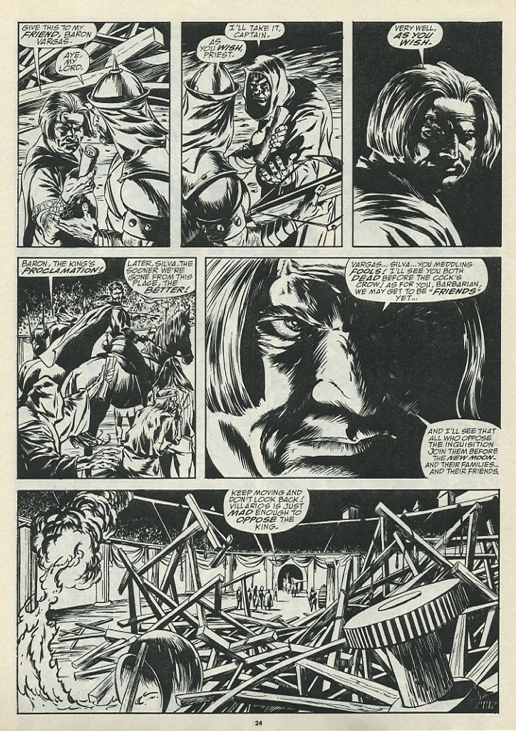 The Savage Sword Of Conan Issue #185 #186 - English 26