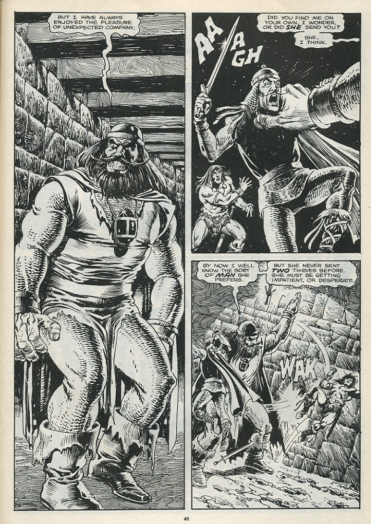 The Savage Sword Of Conan Issue #174 #175 - English 43