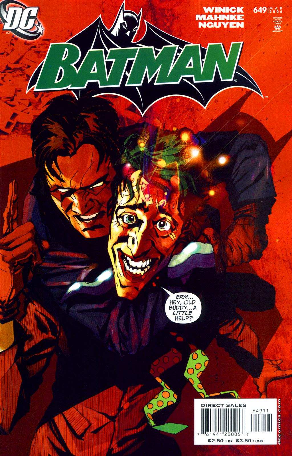 Batman: Under The Hood 12 Page 1