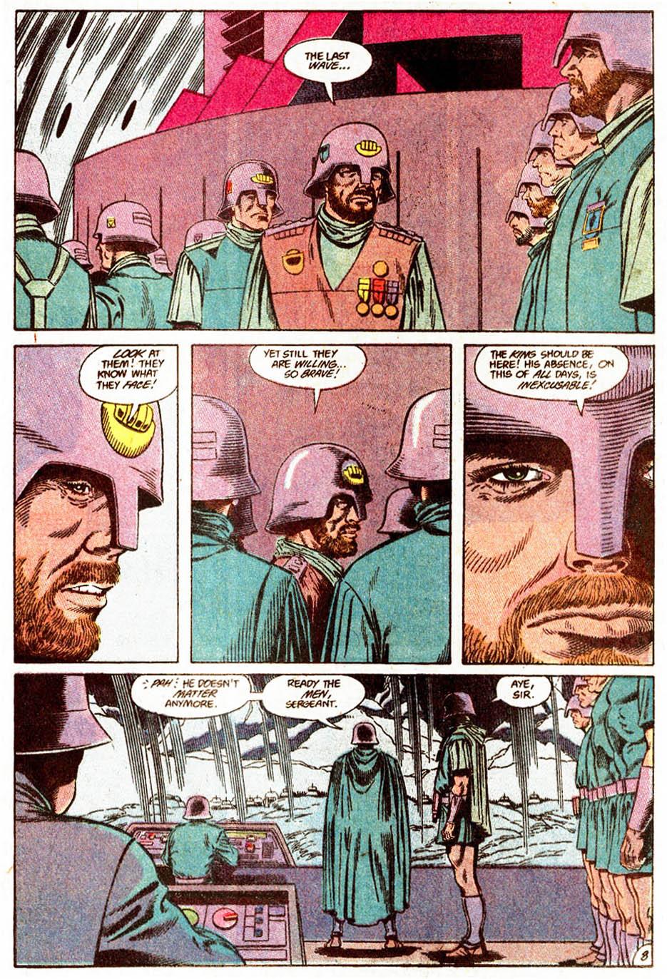 Aquaman (1989) Issue #5 #5 - English 9