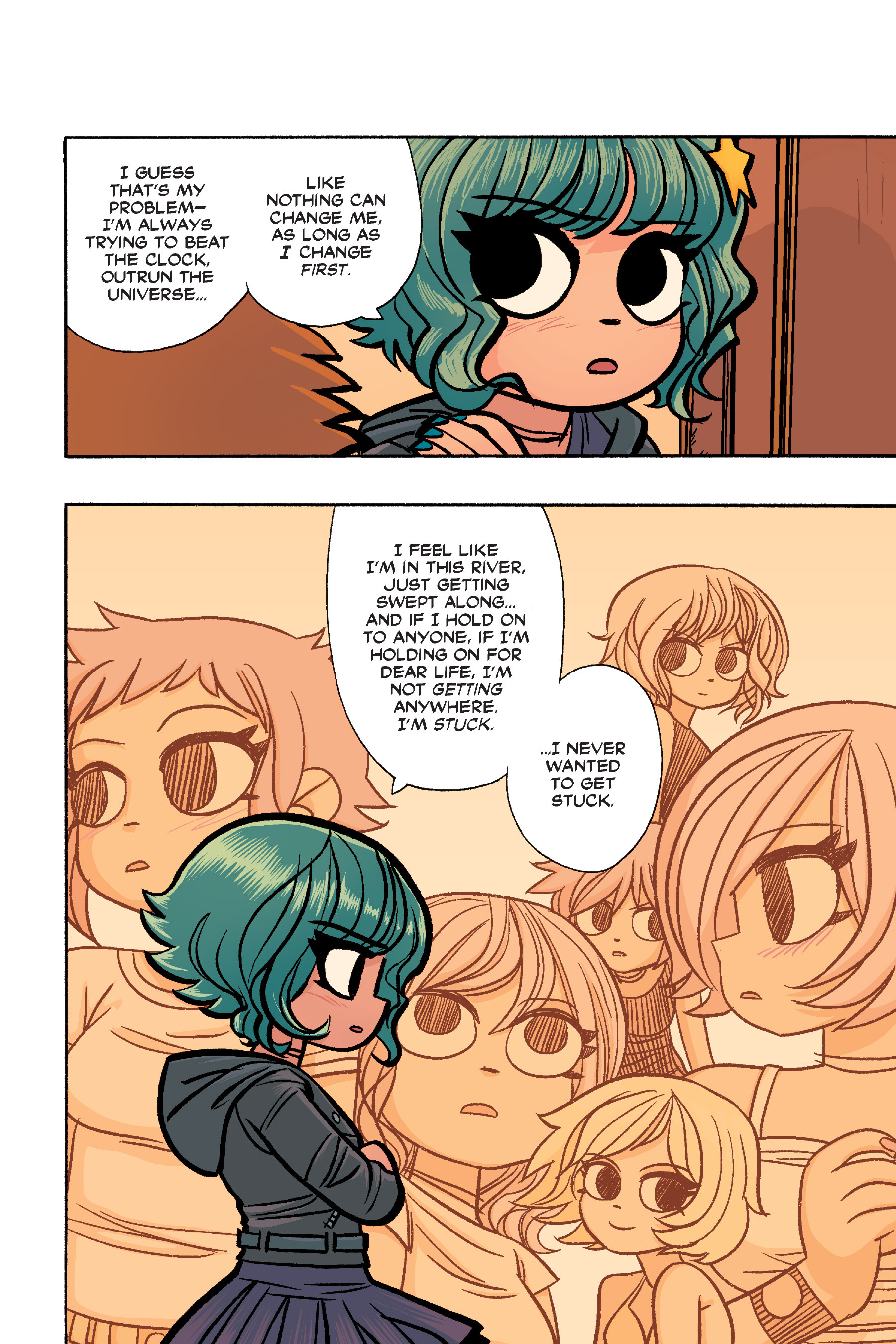 Read online Scott Pilgrim comic -  Issue #6 - 223