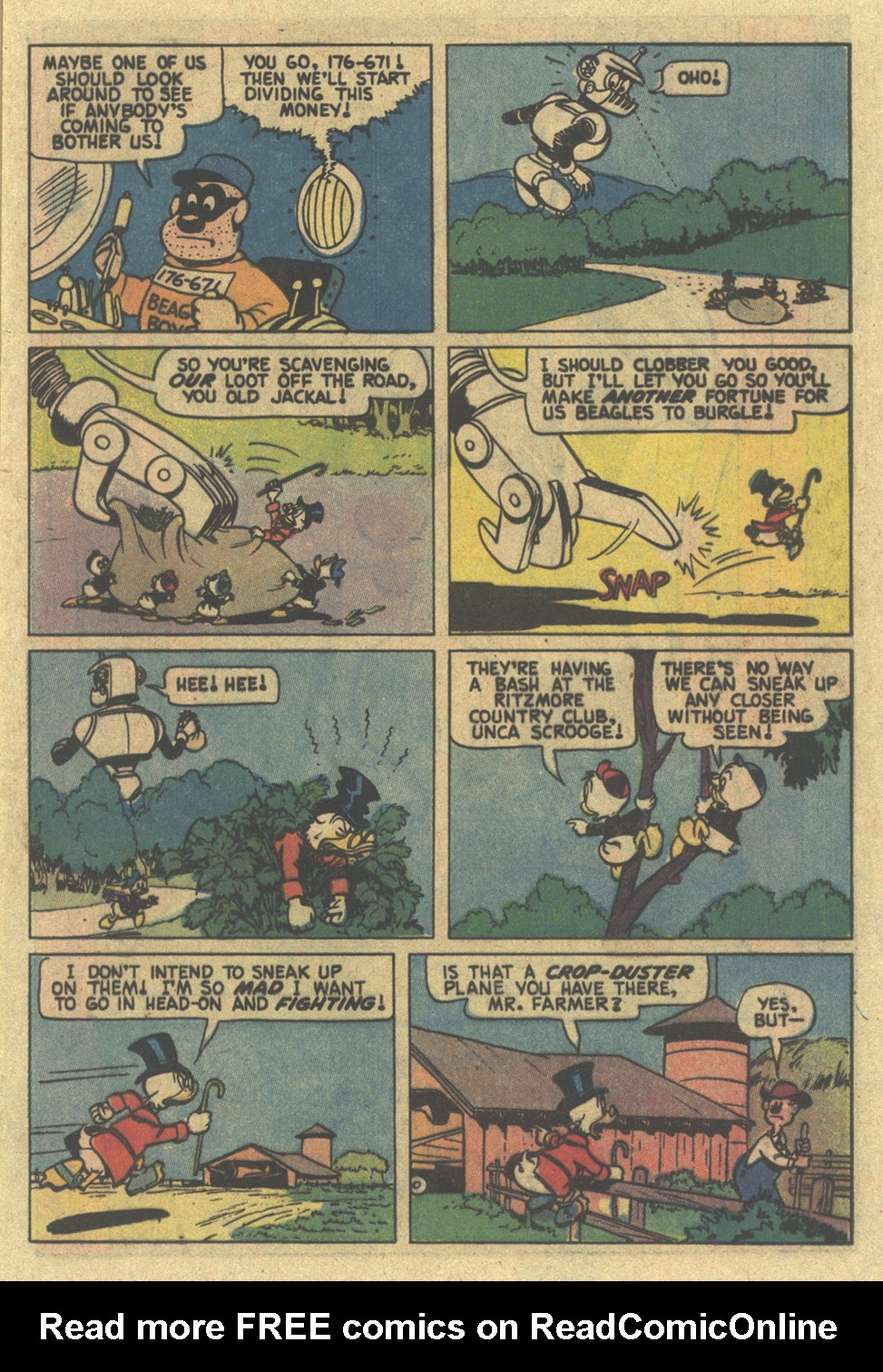 Uncle Scrooge (1953) Issue #185 #185 - English 17