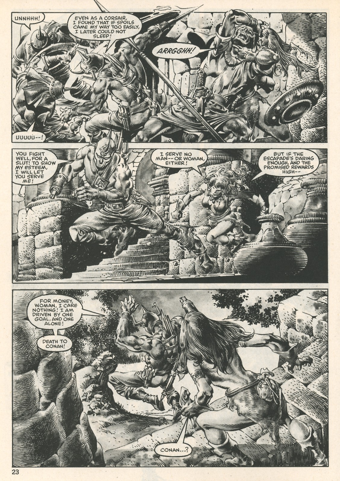 The Savage Sword Of Conan Issue #107 #108 - English 23