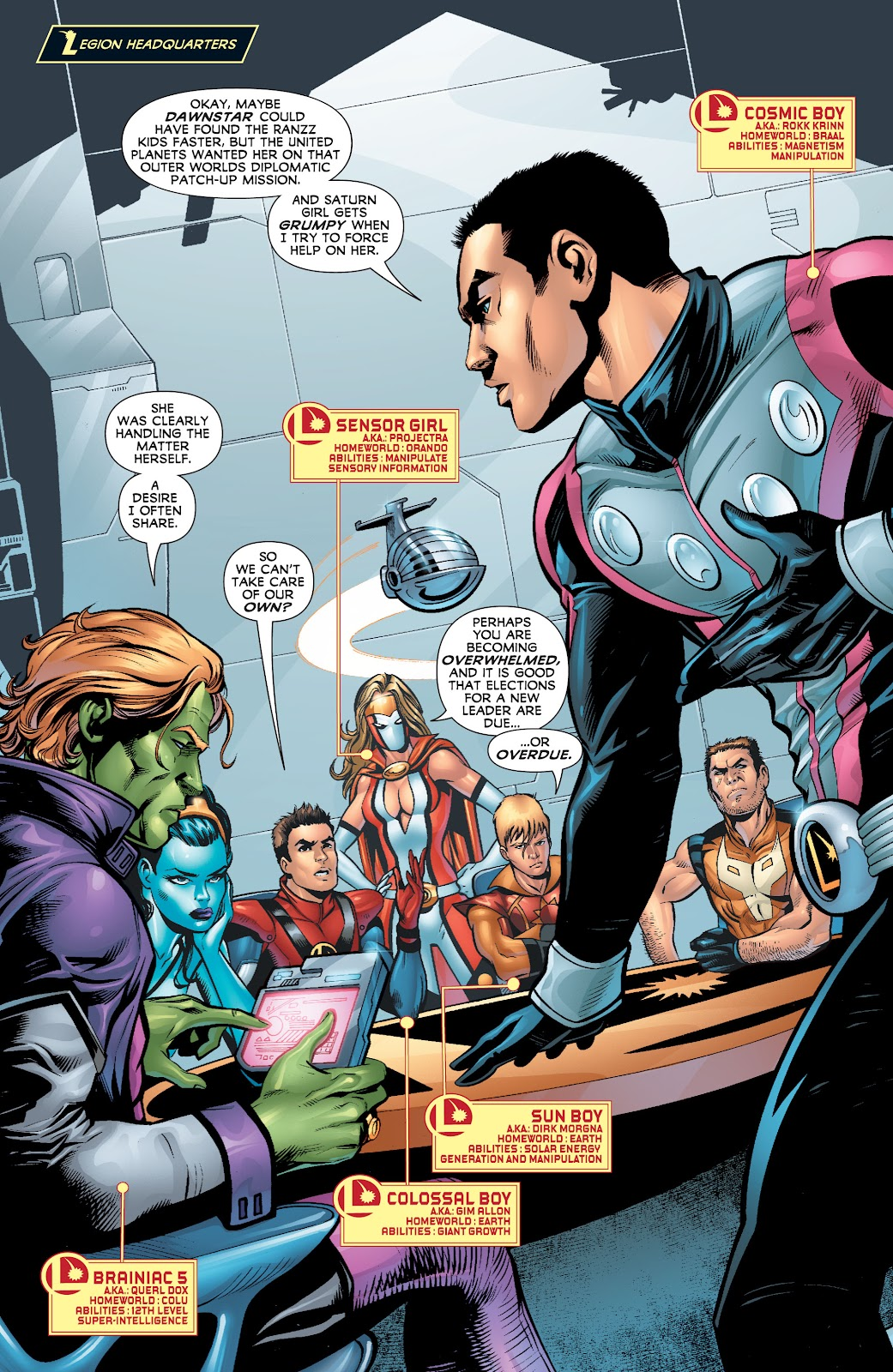 Legion of Super-Heroes (2010) Issue #4 #5 - English 9