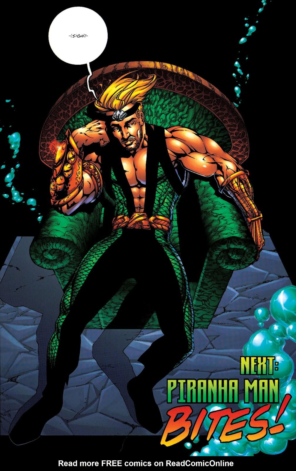Aquaman (1994) Issue #55 #61 - English 23