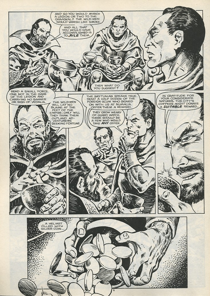 The Savage Sword Of Conan Issue #178 #179 - English 8