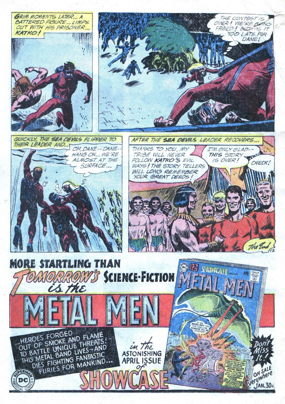 Read online Sea Devils comic -  Issue #4 - 33