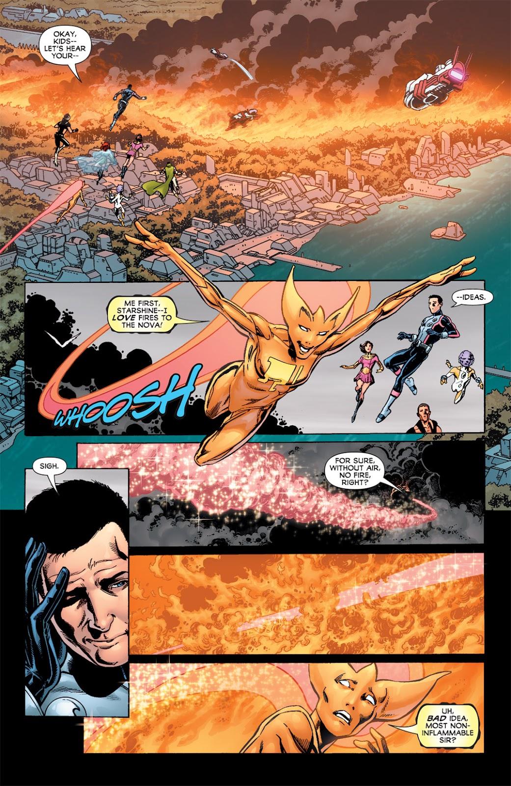 Legion of Super-Heroes (2010) Issue #6 #7 - English 21