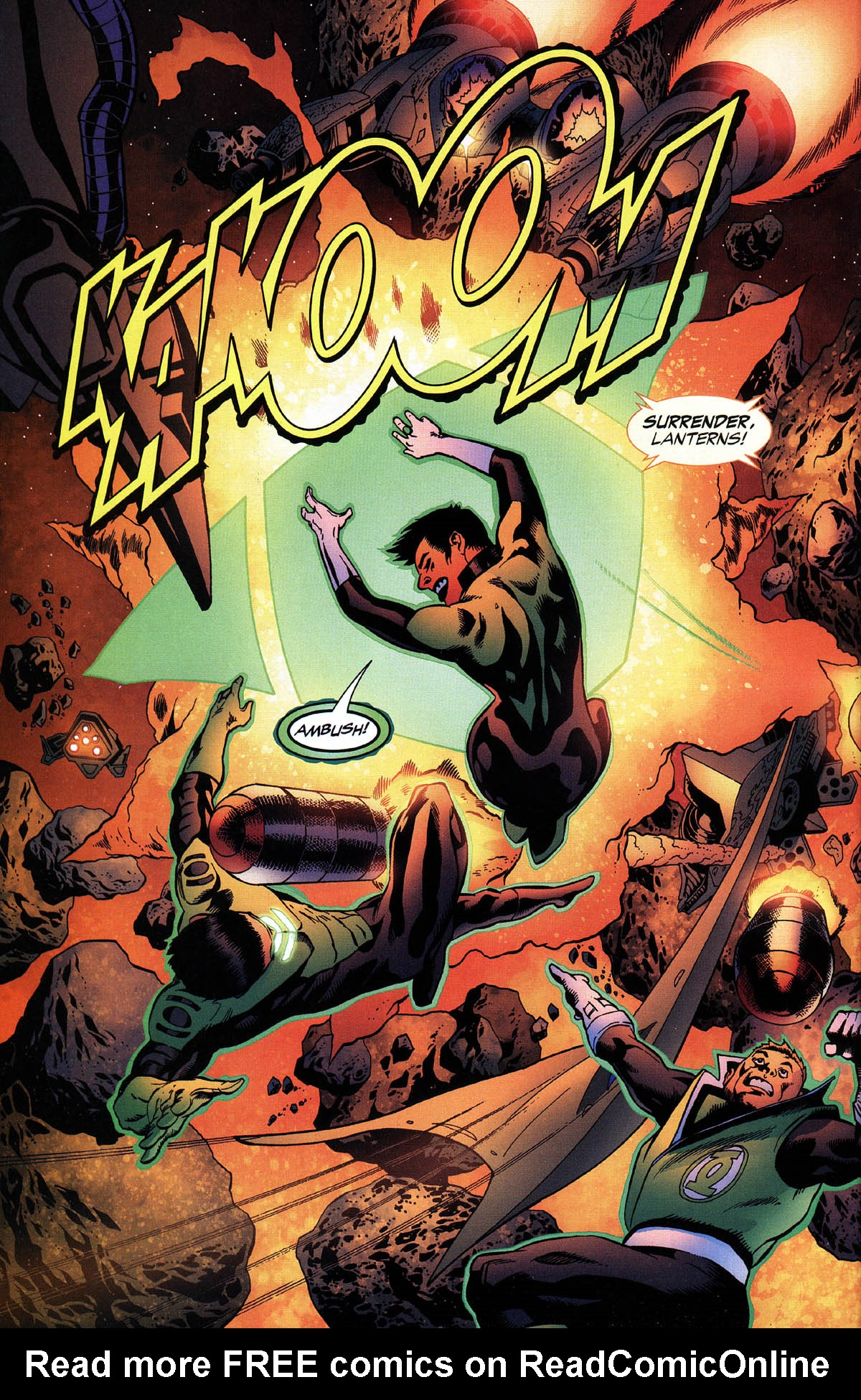 Read online Green Lantern Corps: Recharge comic -  Issue #3 - 17