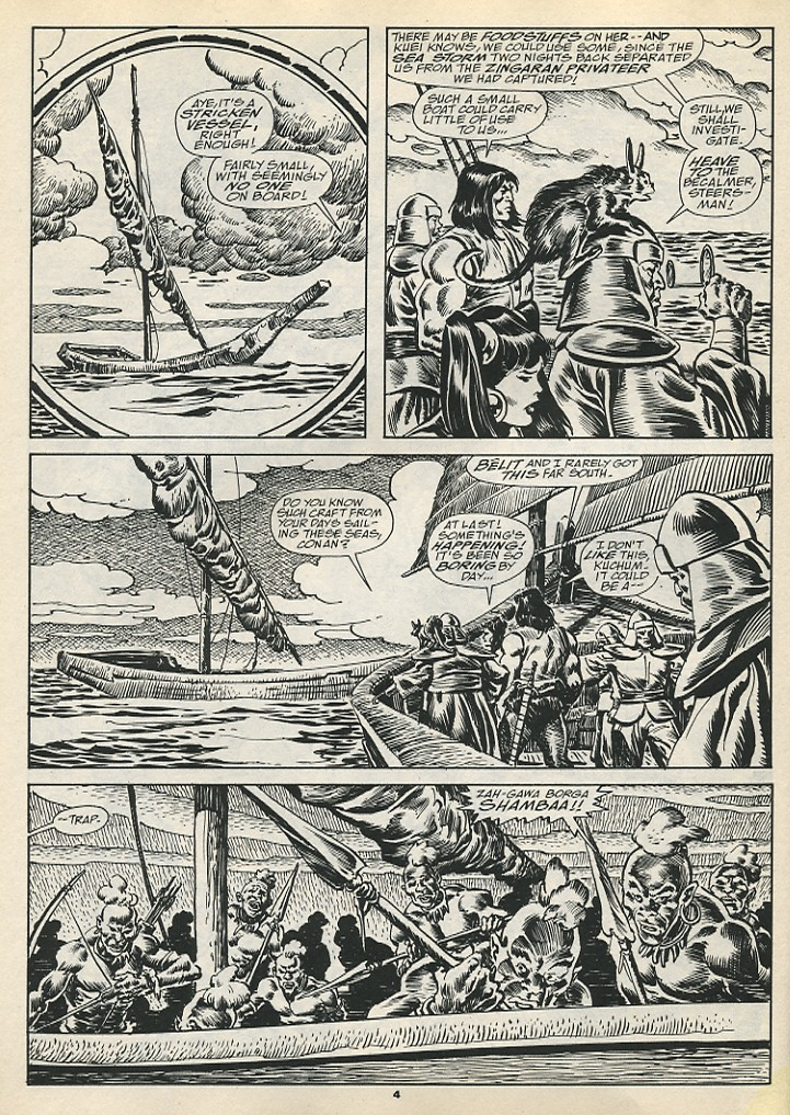 The Savage Sword Of Conan Issue #192 #193 - English 6
