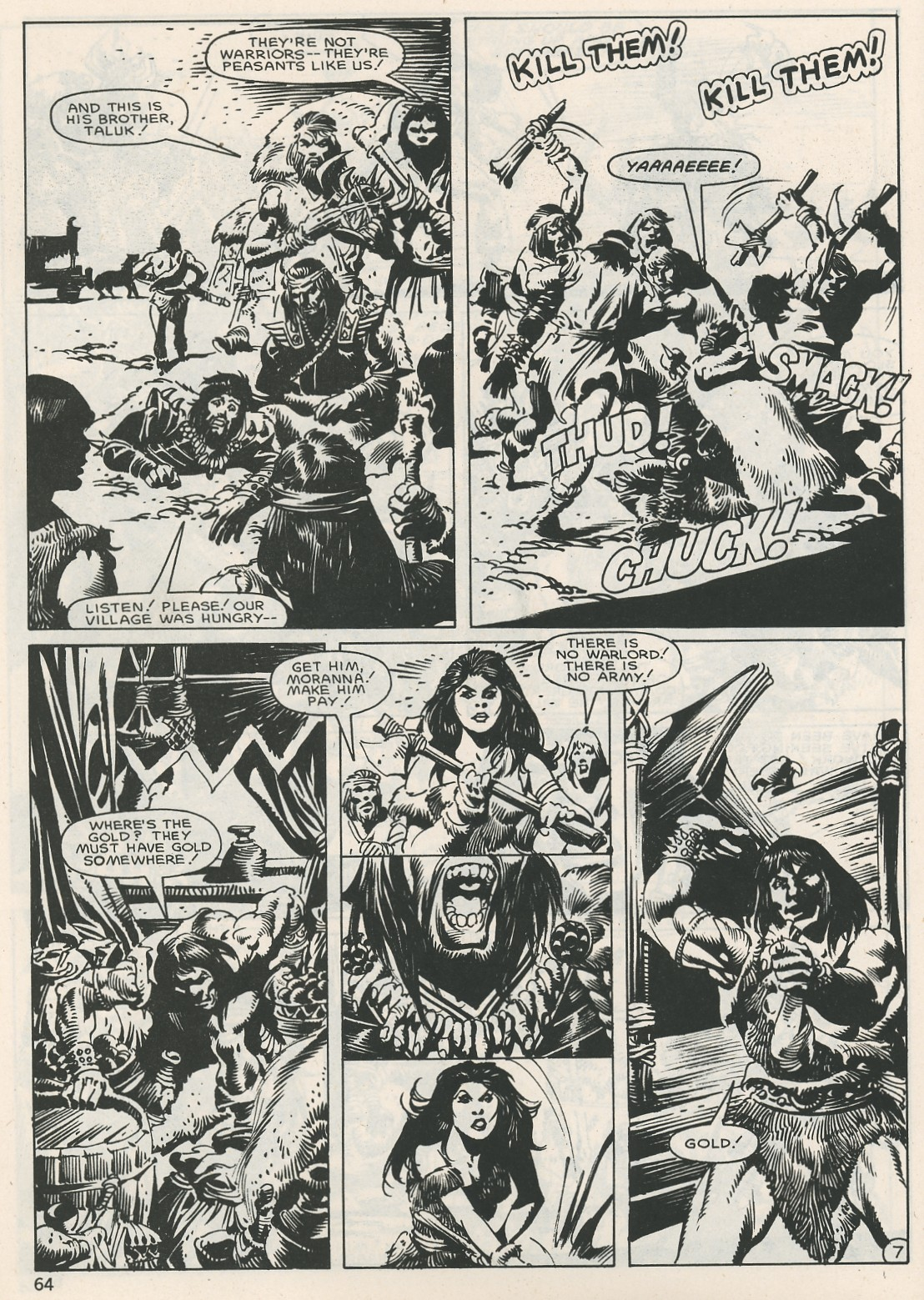 The Savage Sword Of Conan Issue #115 #116 - English 64