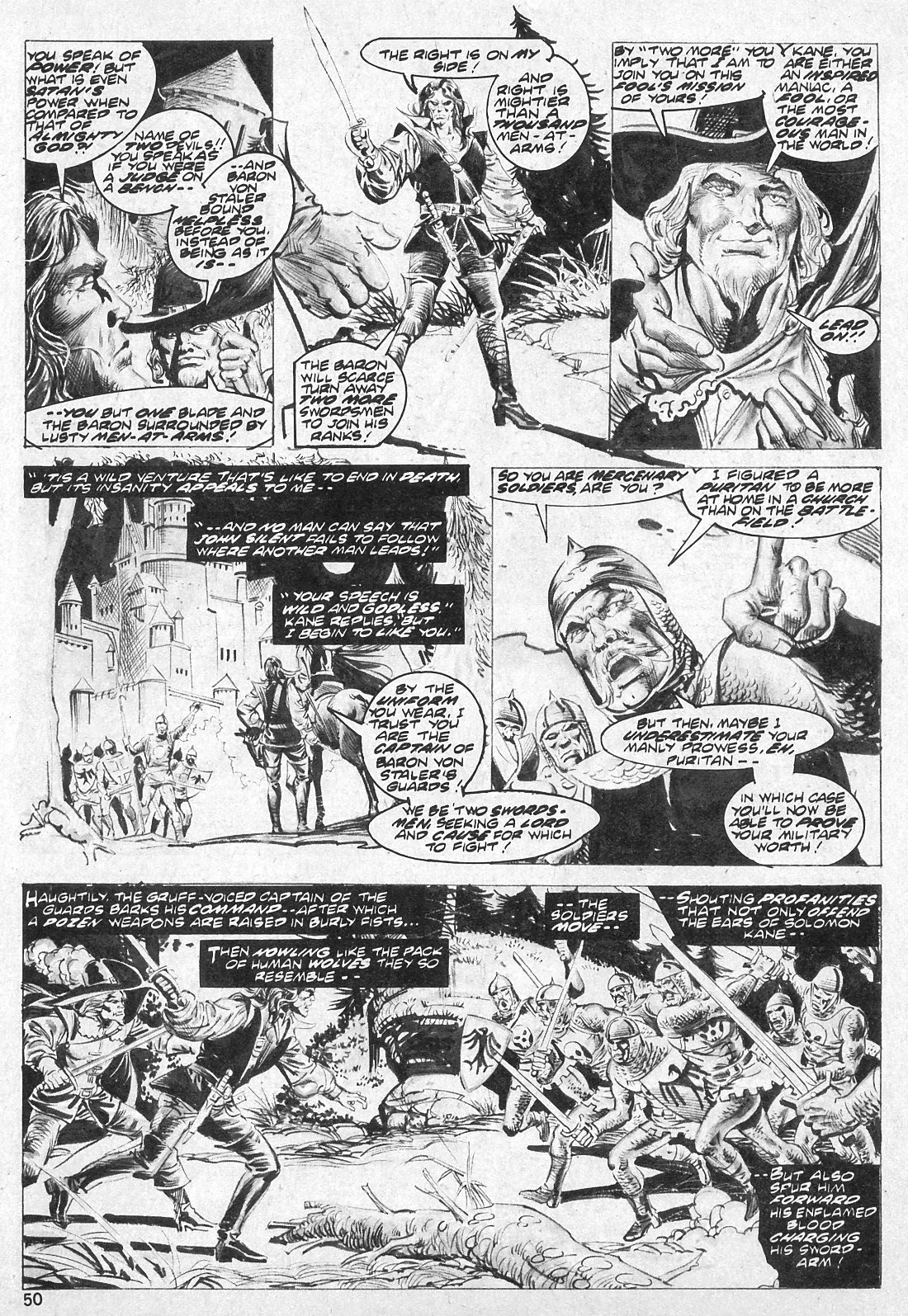 The Savage Sword Of Conan Issue #19 #20 - English 50