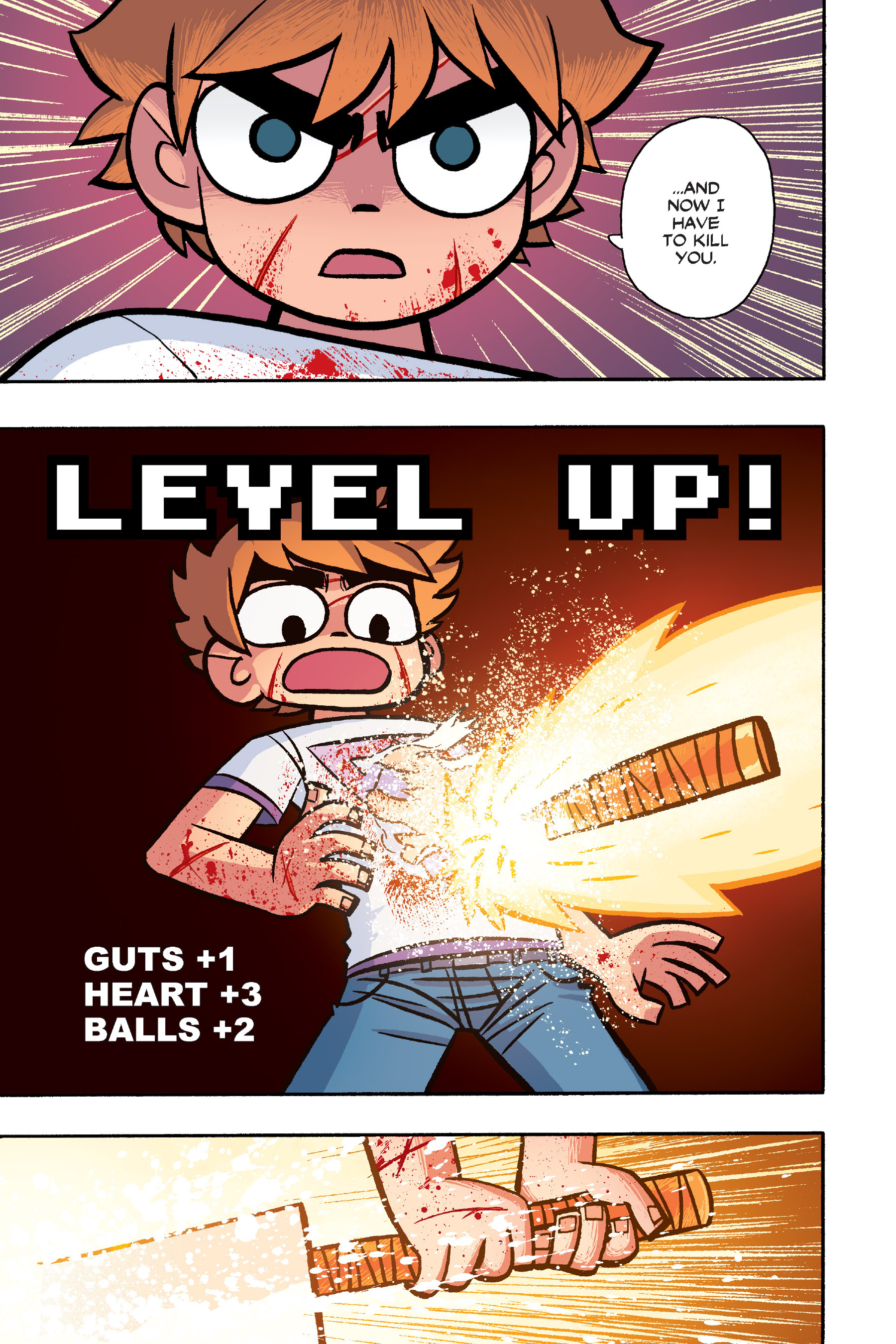 Read online Scott Pilgrim comic -  Issue #6 - 196