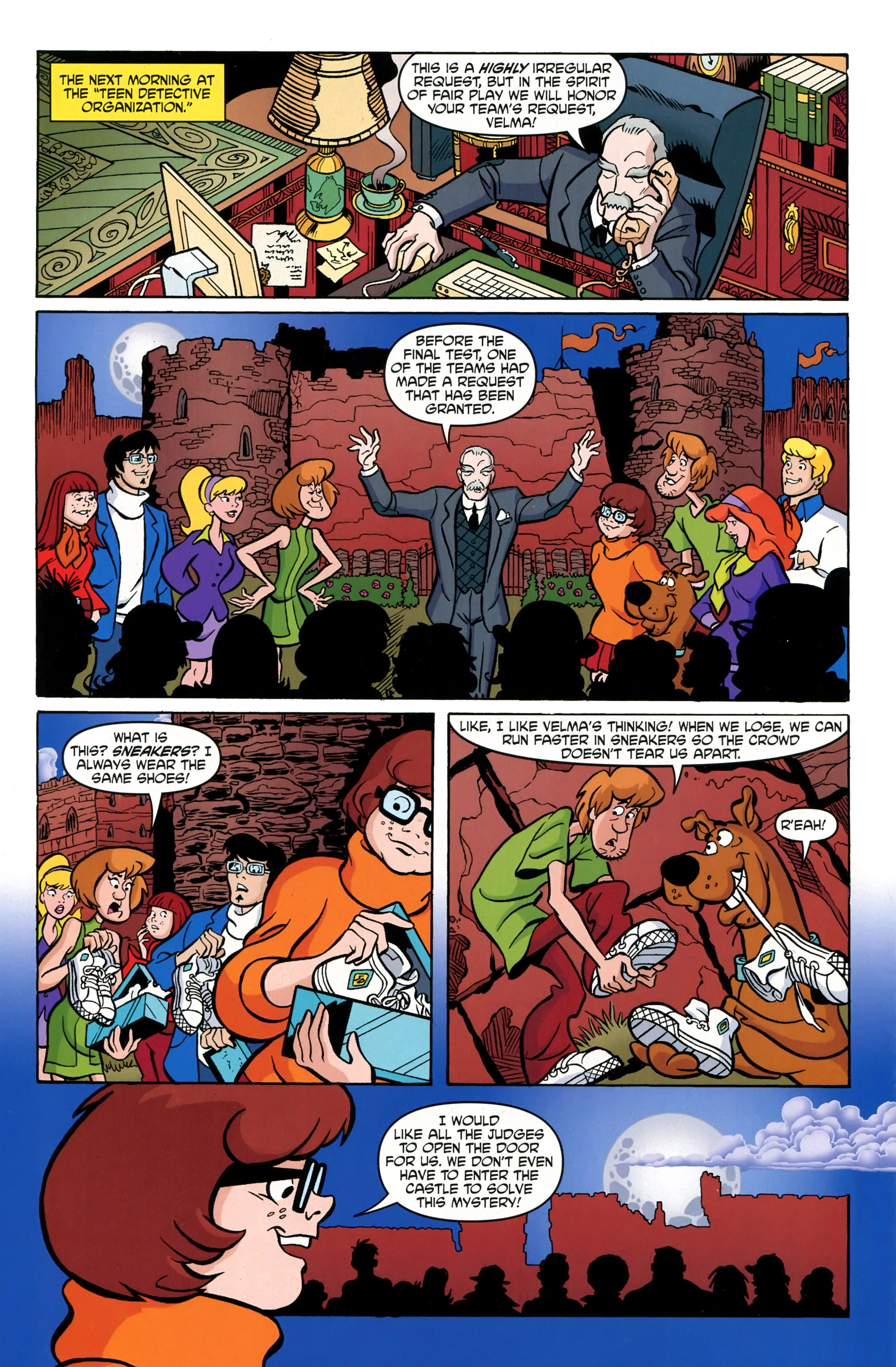 Read online Scooby-Doo: Where Are You? comic -  Issue #39 - 24